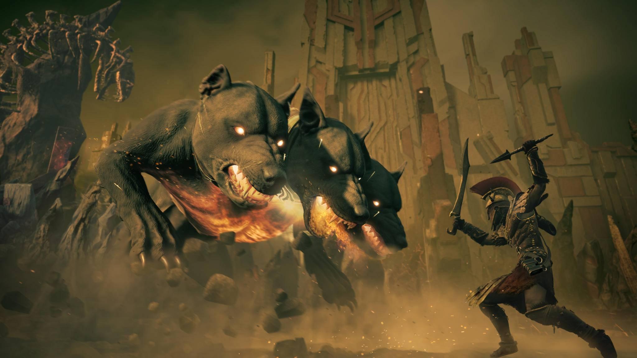 """Nach der Unterwelt geht es im letzten DLC von """"Assassin's Creed Odyssey"""" endlich auf nach Atlantis."""