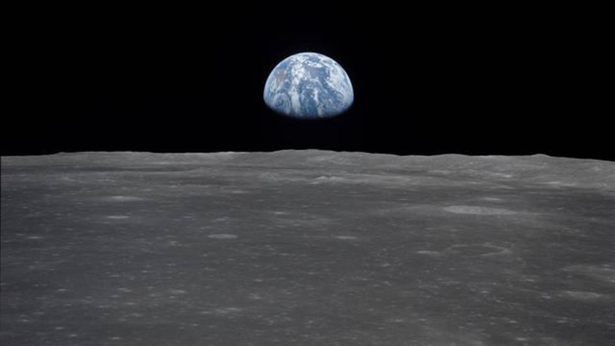 Spektakuläre Aufnahmen: Zur Mondlandung der Apollo-11-Mission gibt es nicht nur tolle Bilder, sondern auch jede Menge passende Songs!