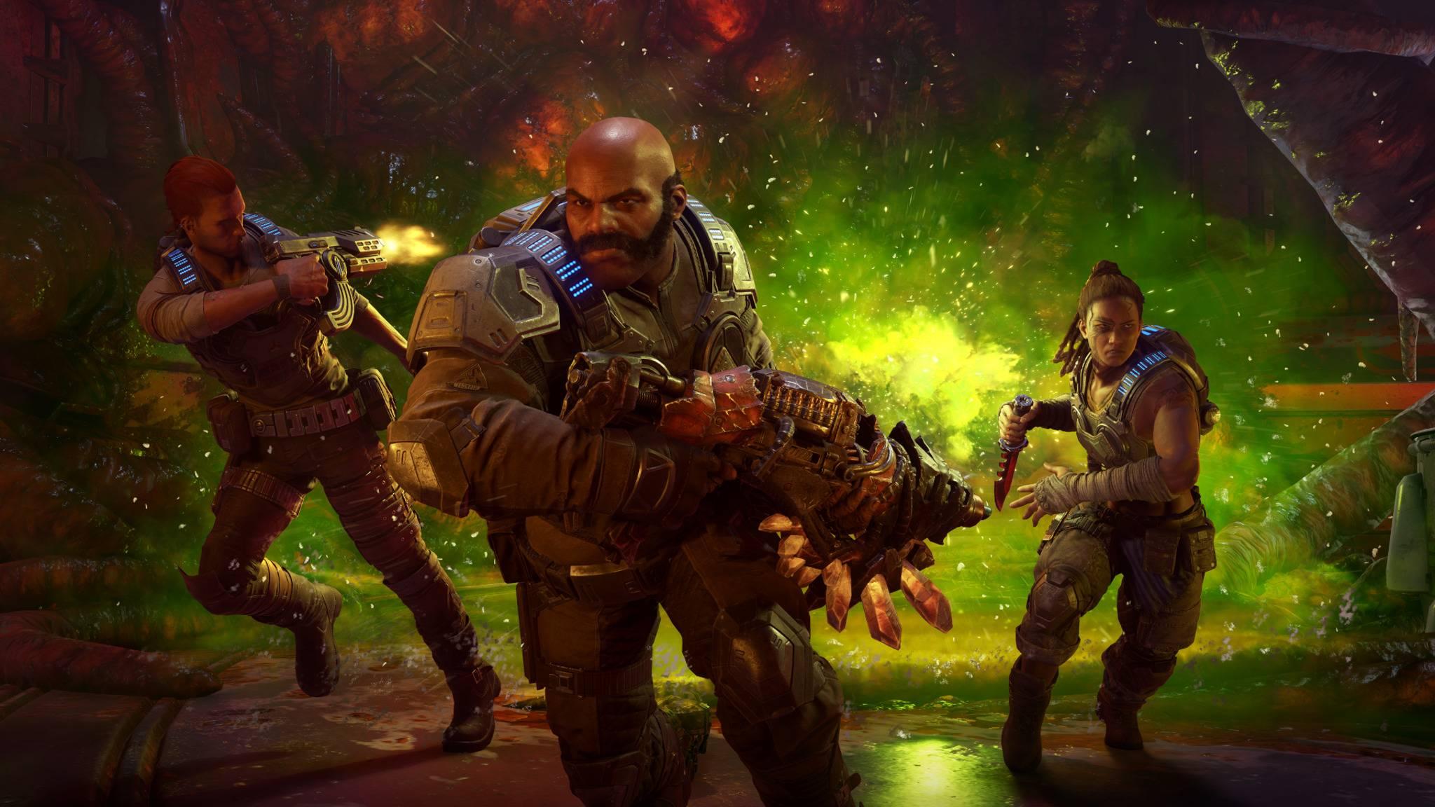 """""""Gears 5"""" ist noch lange nicht am Ende, das will Entwickler The Coaltion mit Operation 2 beweisen."""