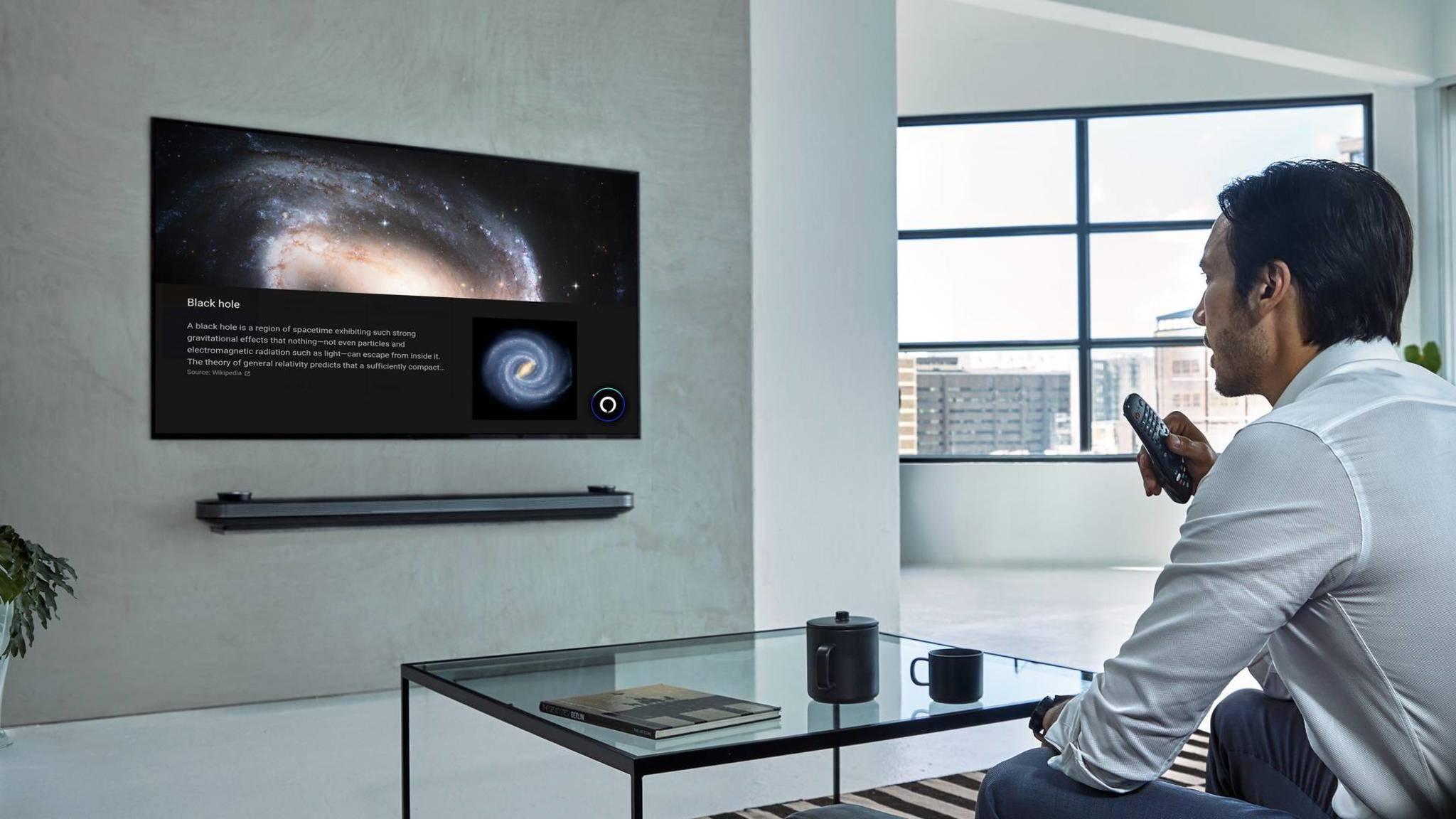 LG-TV-Besitzer können ab sofort auch Alexa fragen.