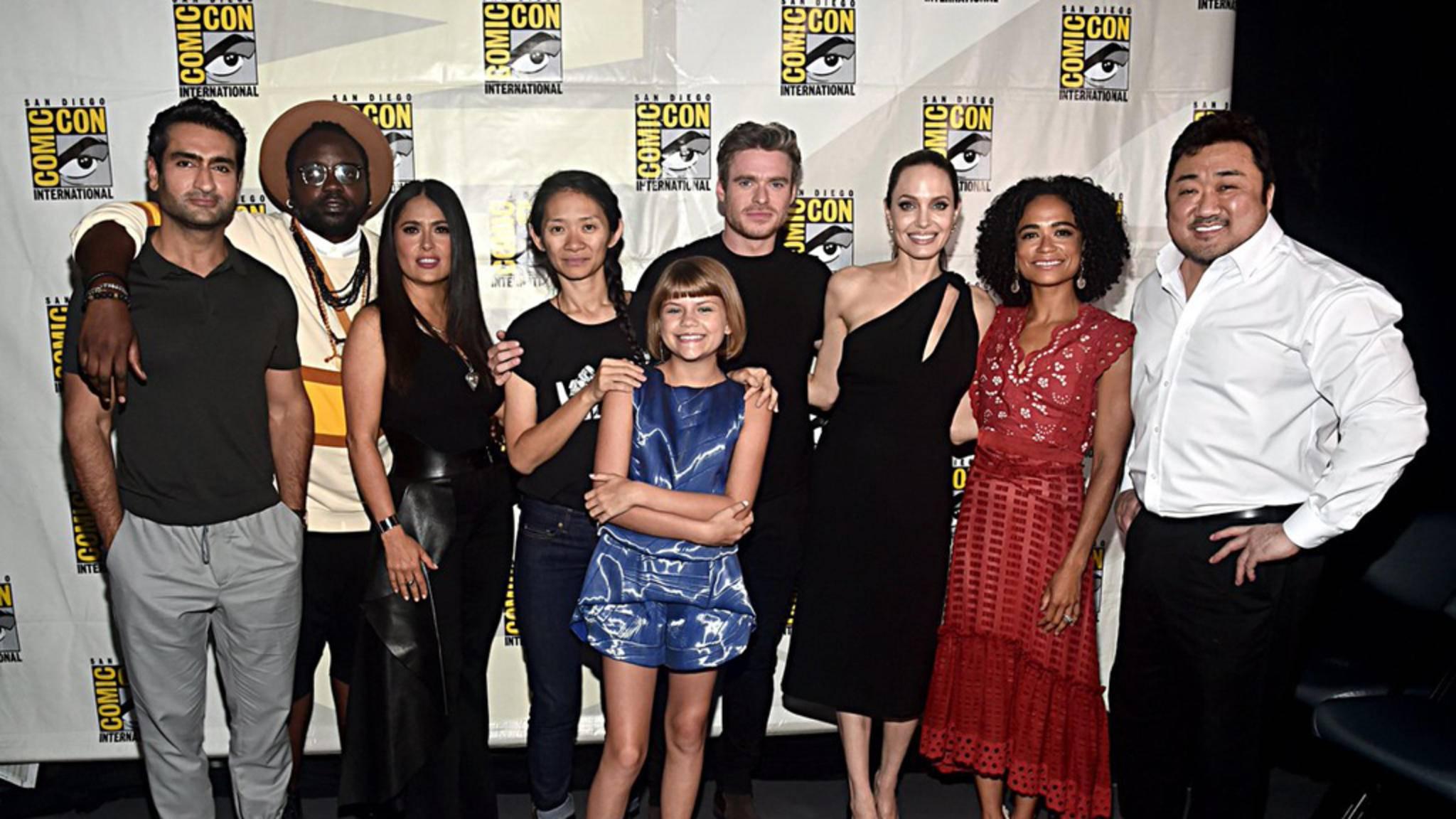 """Der Cast von """"Marvel's Eternals"""" wurde auf den San Diego Comic-Con 2019 vorgestellt."""