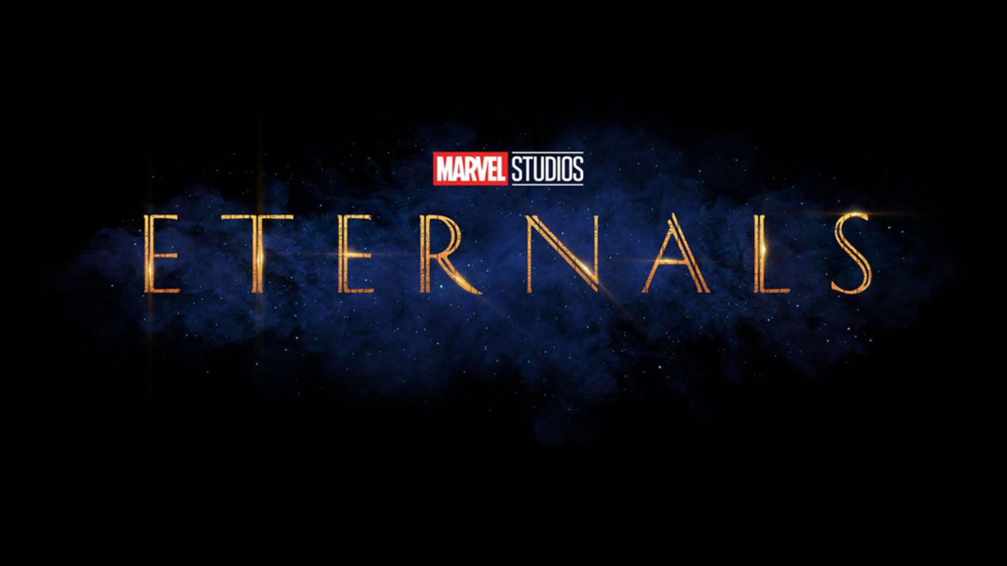 "Logo zum Marvel-Film ""Eternals"""