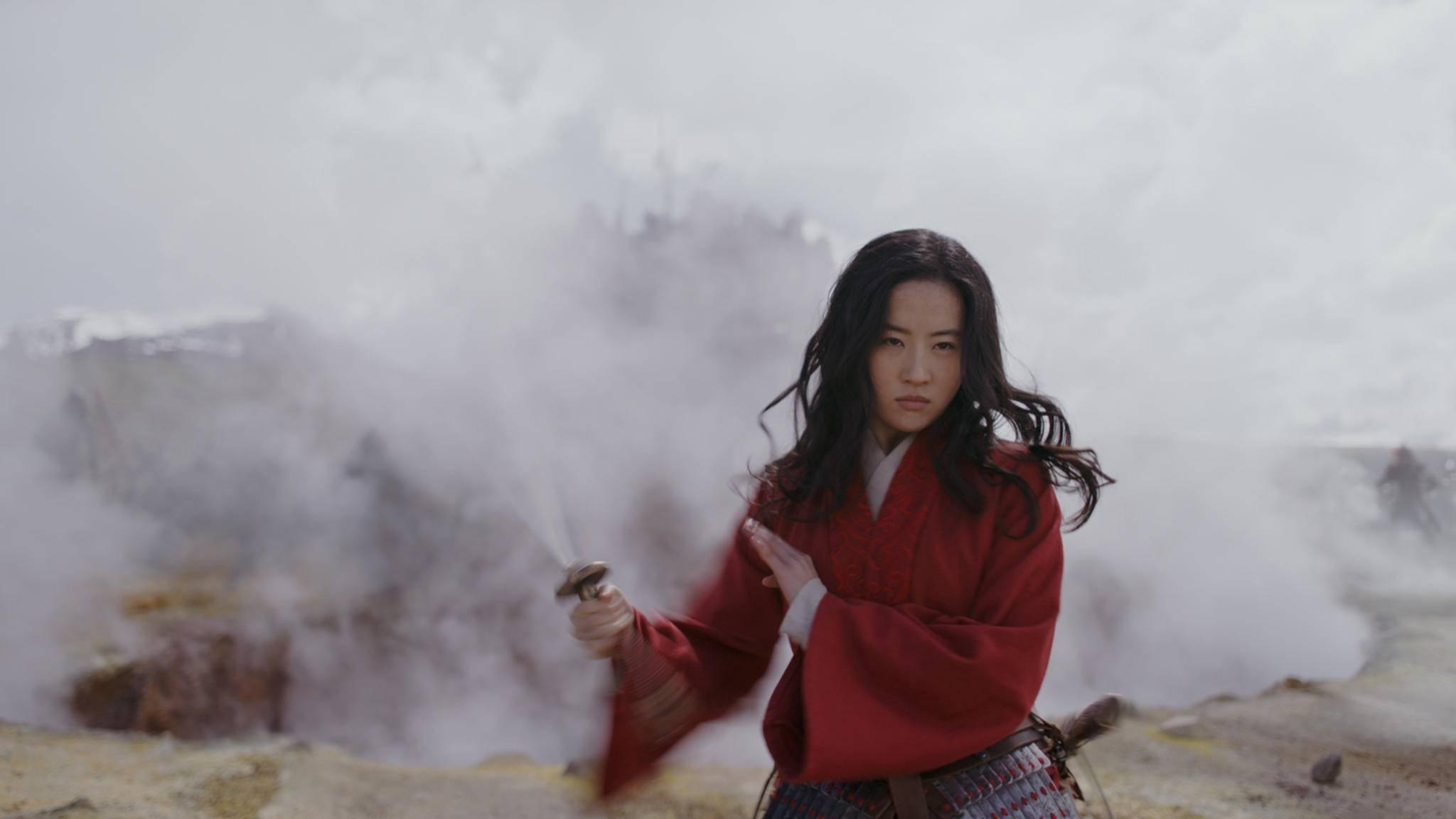 Macht sich bereit für den neuen Kinostart im Sommer 2020: Mulan.