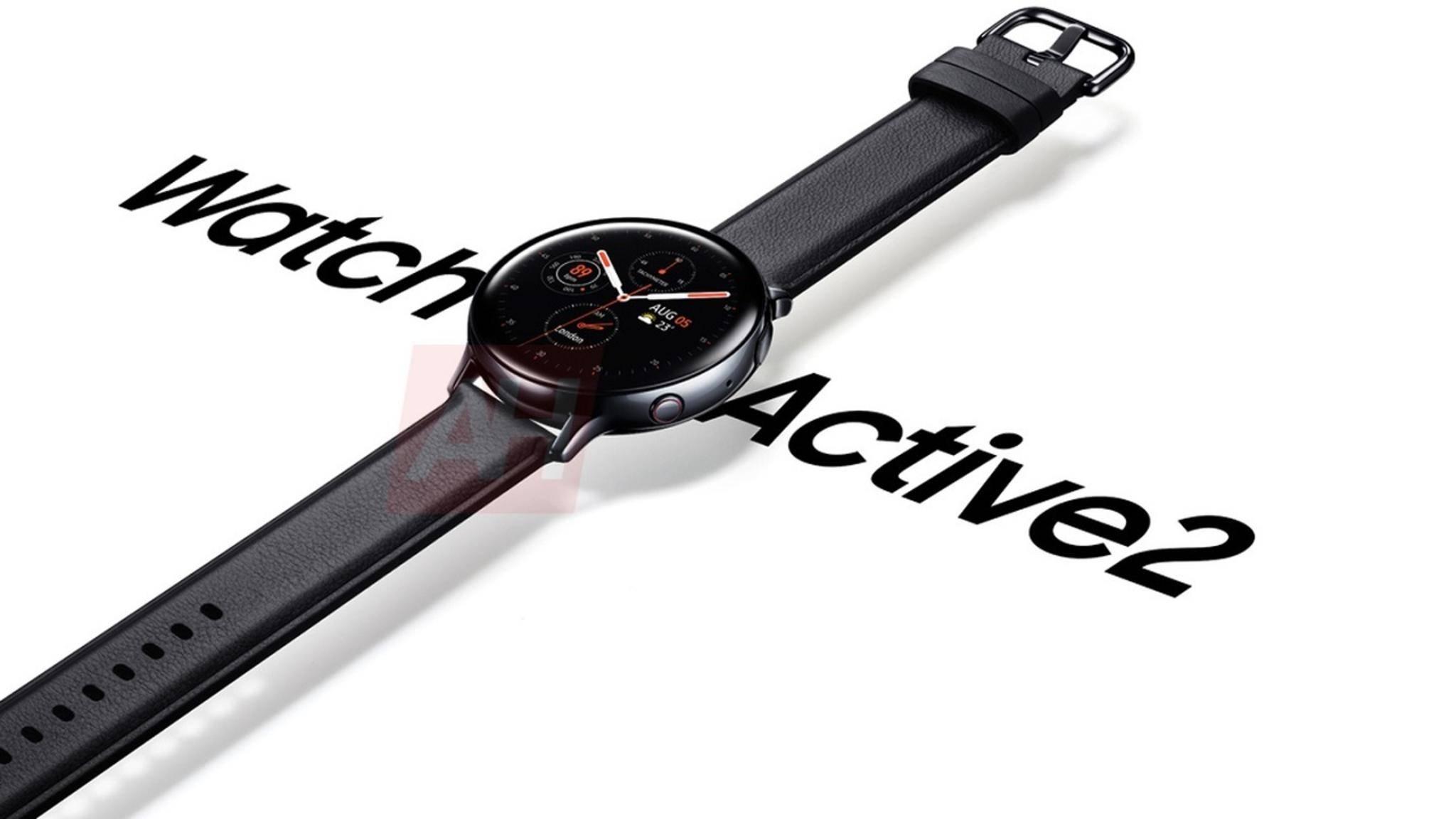 Galaxy Watch Active 2 Renderbild-Leak