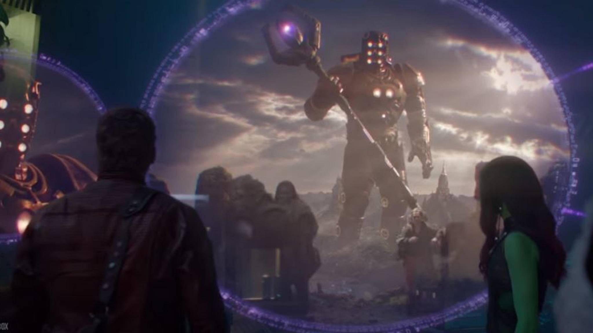 """Eson der Sucher zeigte sich bereits in """"Guardians of the Galaxy"""" (2014)."""