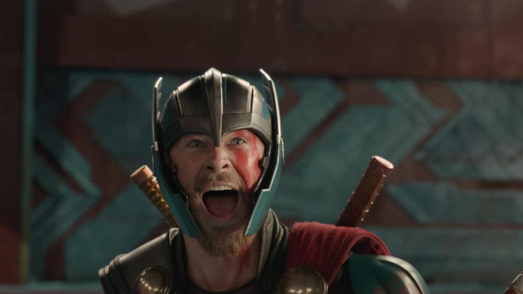 """Chris Hemsworth als Thor in """"Thor: Tag der Entscheidung"""""""