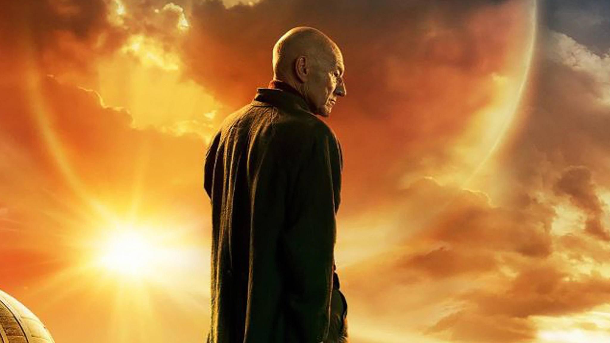 """Doch kein Ruhestand auf der Erde? Das erste Poster zu """"Star Trek: Picard"""" verleitet zu Spekulationen."""