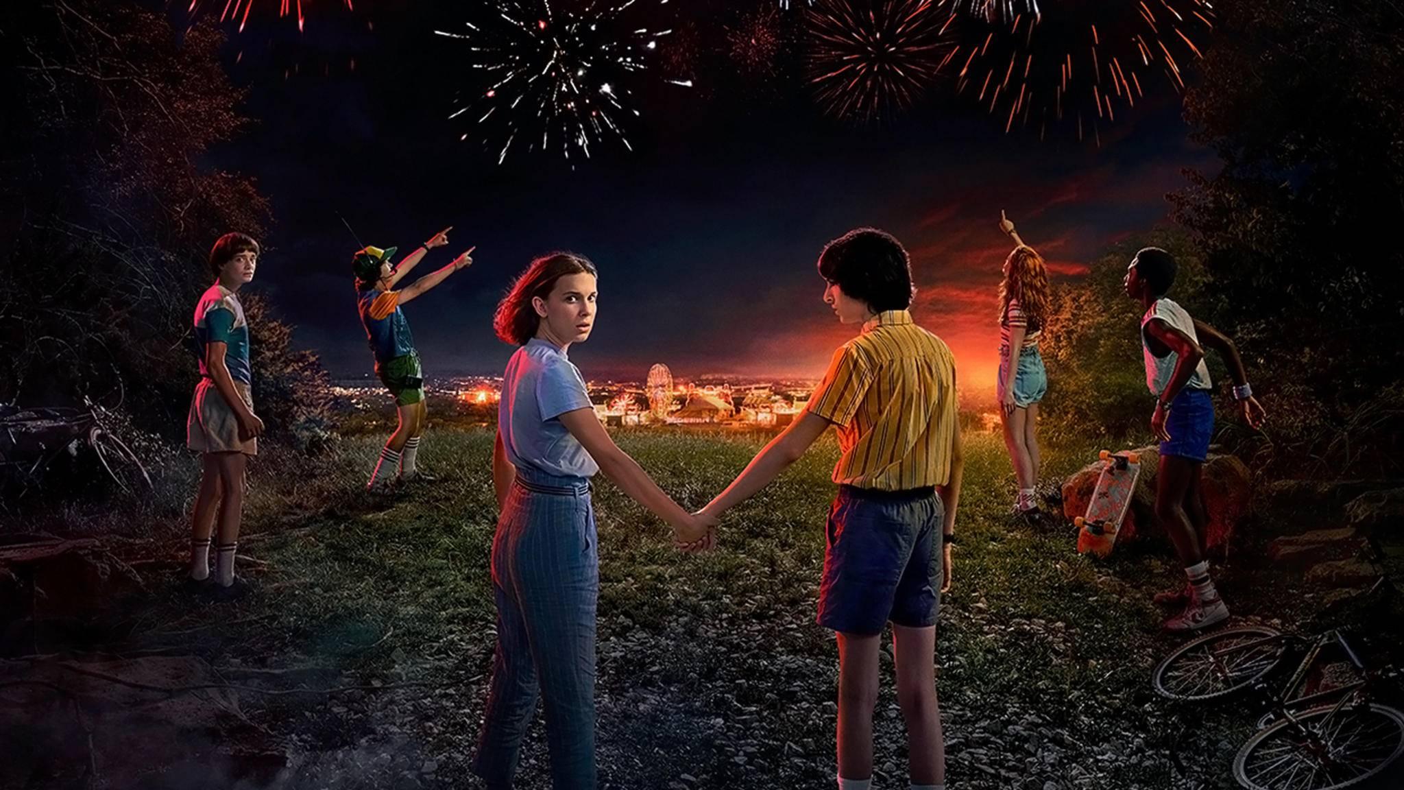 """Na klar: In Staffel 3 werden die """"Stranger Things""""-Kids wieder viele Geheimnisse aufdecken."""