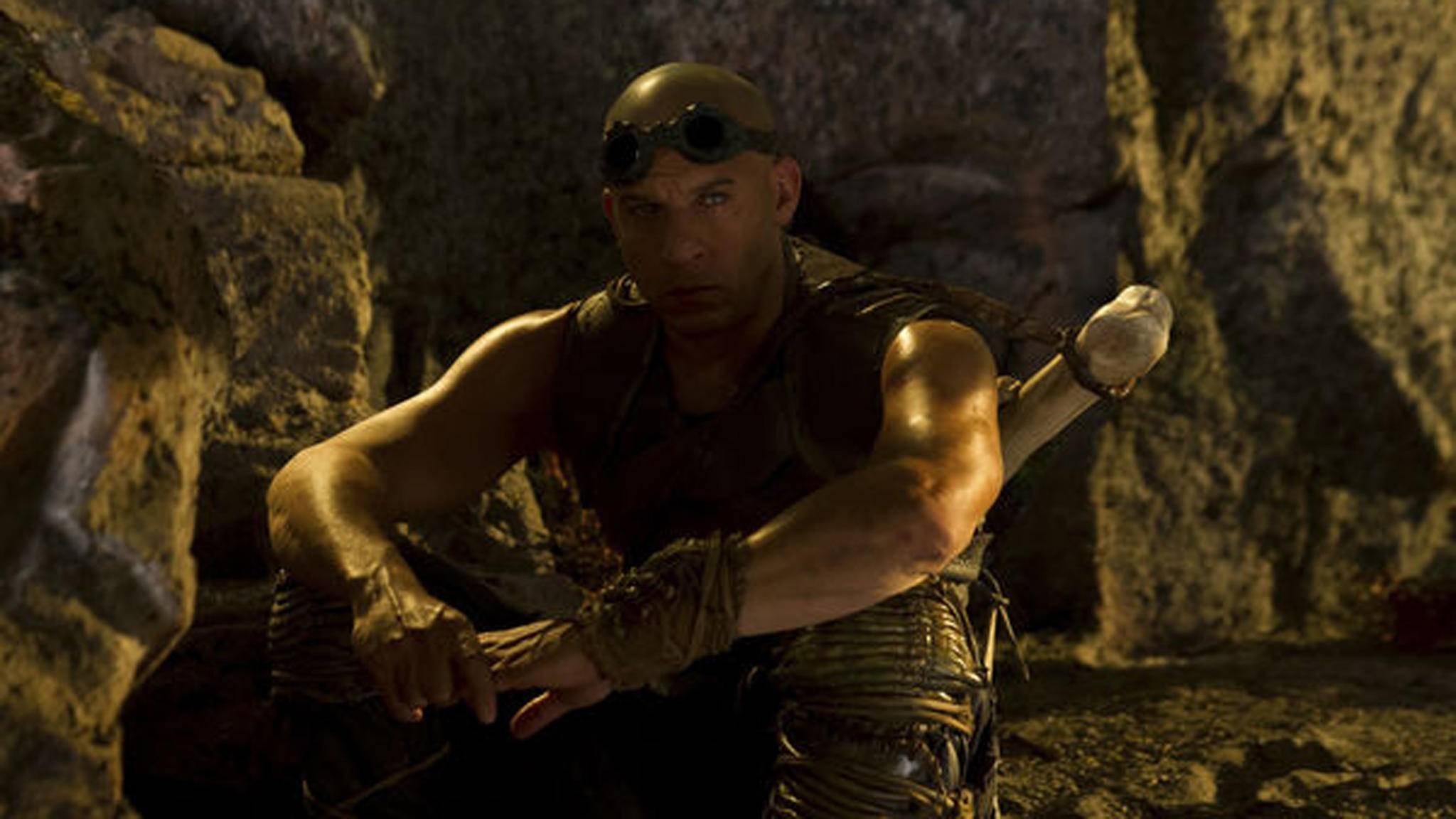 Vin Diesel in Riddick: Überleben ist seine Rache
