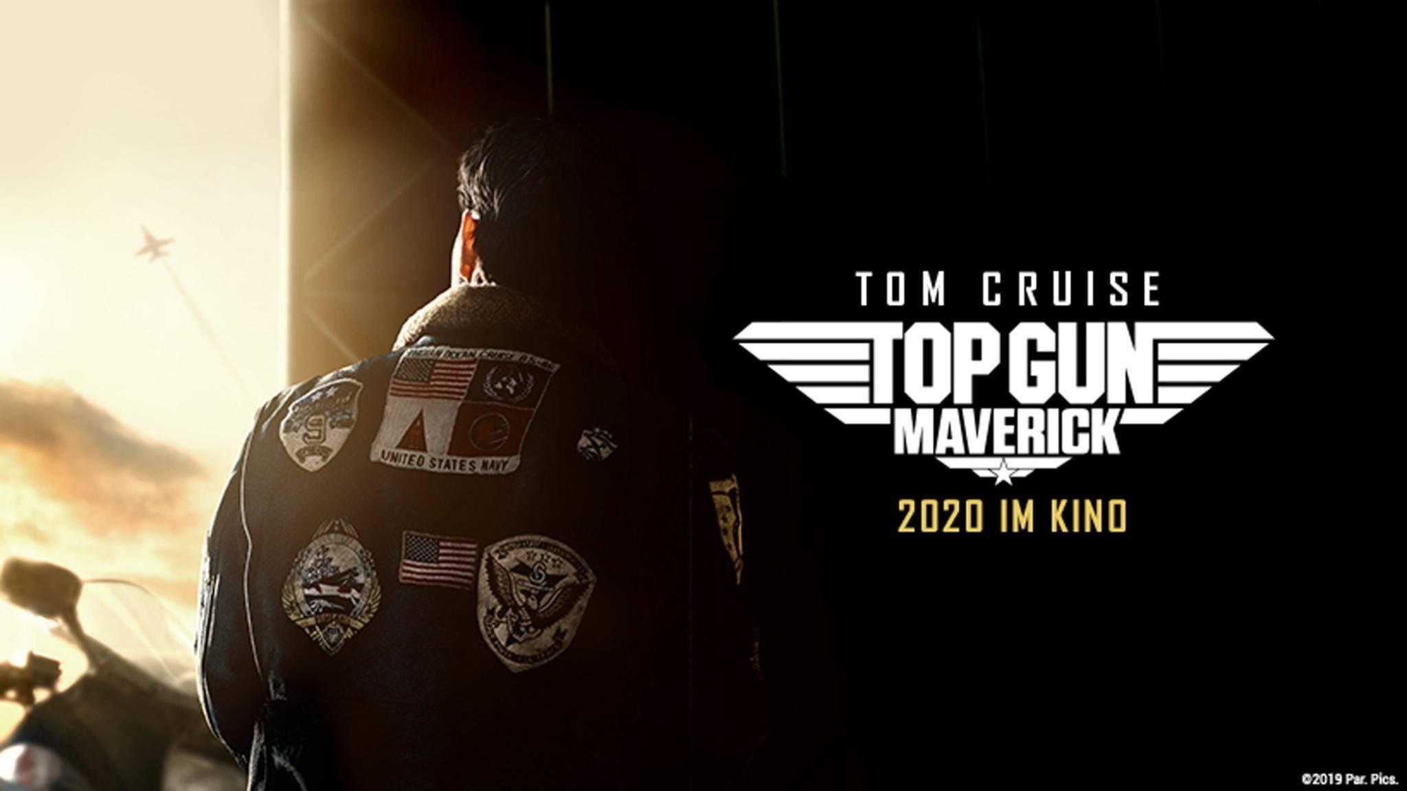 "Poster zu ""Top Gun: Maverick"" mit Tom Cruise"
