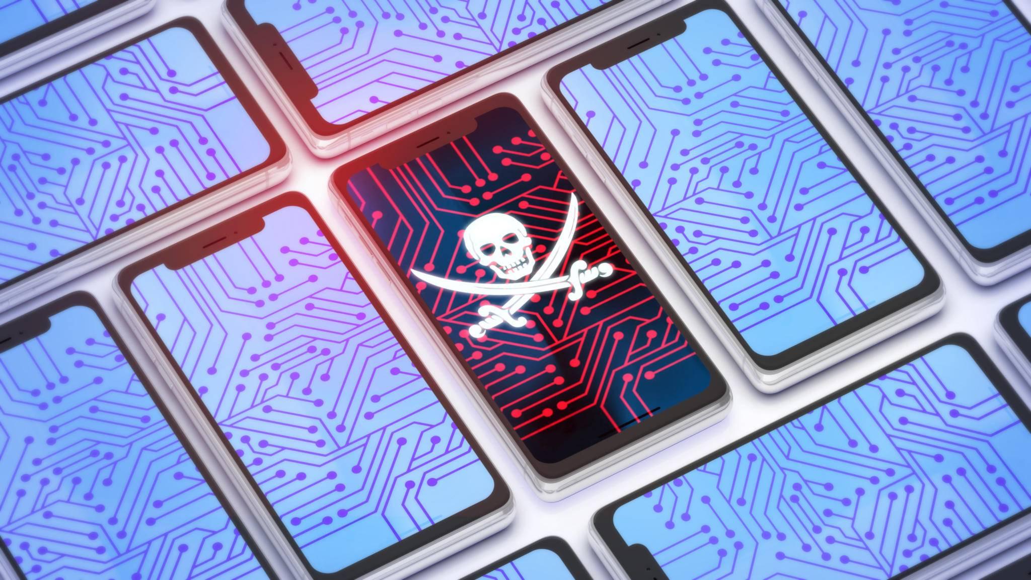 Ältere Android-Handys sind für Hacker-Angriffe anfälliger.