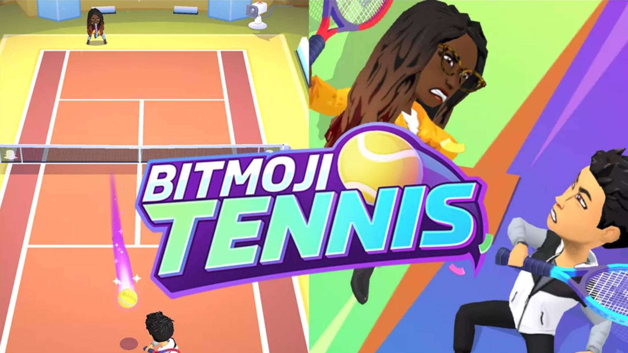 Direkt innerhalb der Snapchat-App kannst Du jetzt eine Partie Tennis spielen.
