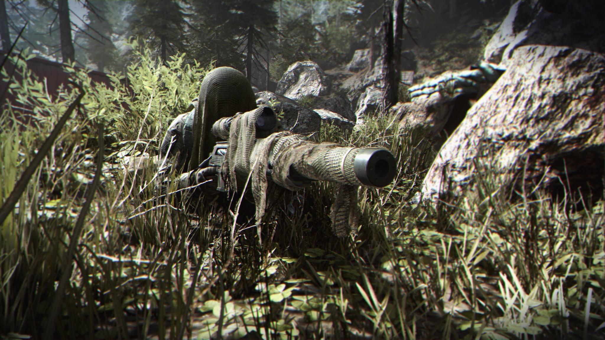 Was?! Du benutzt immer noch ein Scharfschützengewehr für Kills auf große Entfernung?