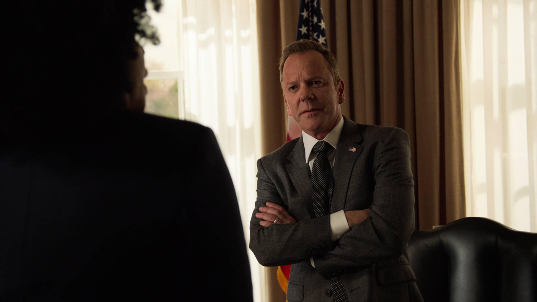 Für President Kirkman (Kiefer Sutherland) neigt sich die Amtszeit ihrem Ende zu.