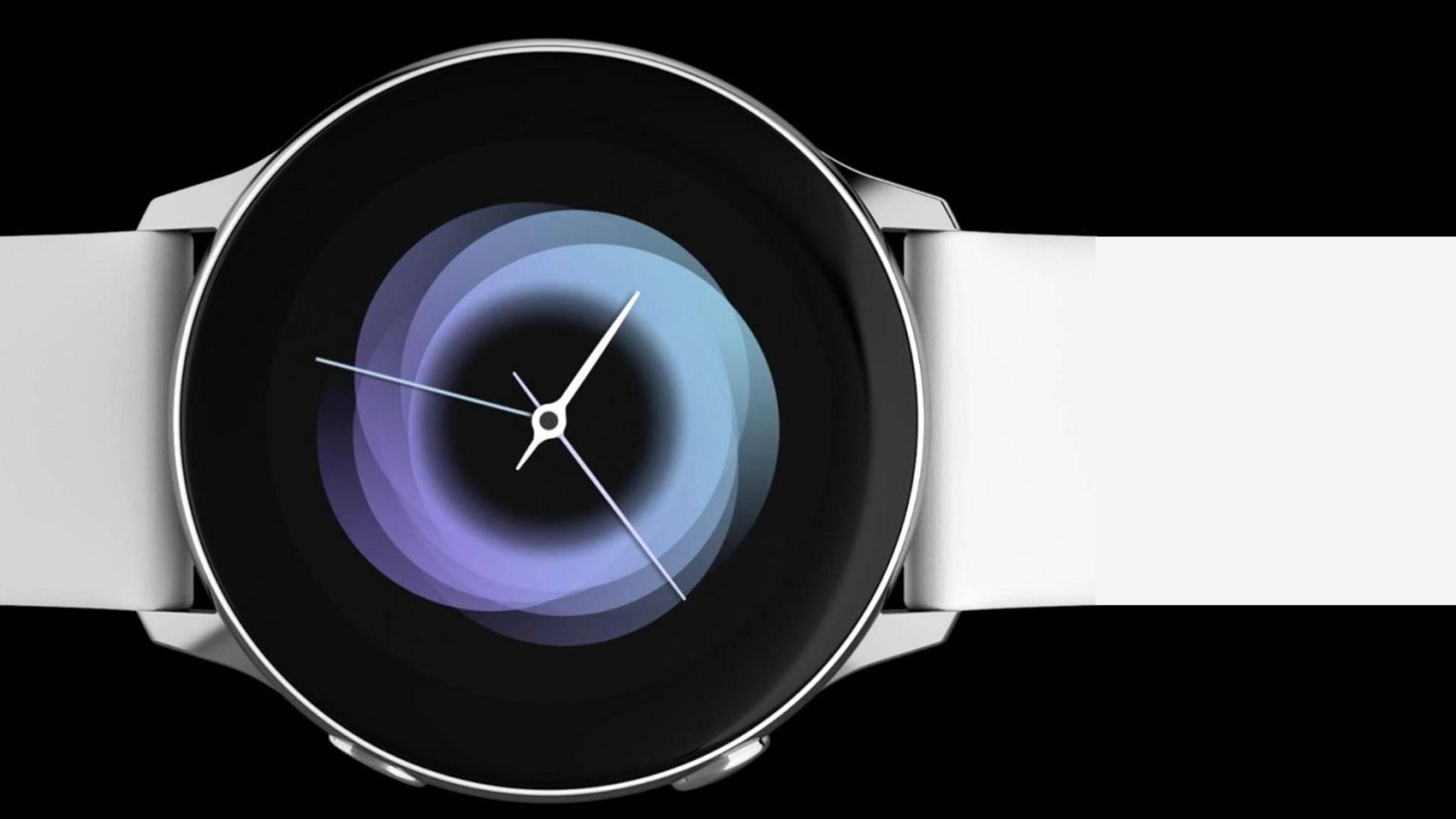 Die Galaxy Watch Active von Samsung