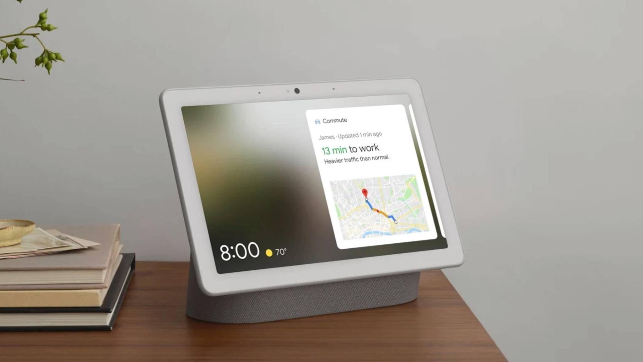 Der Google Nest Hub Max könnte schon im September erscheinen.