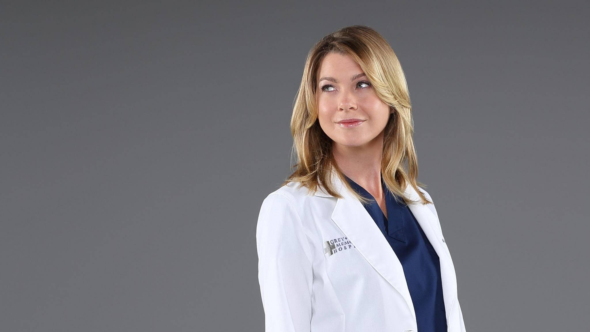 Grey's Anatomy Ellen Pompeo als Meredith Grey
