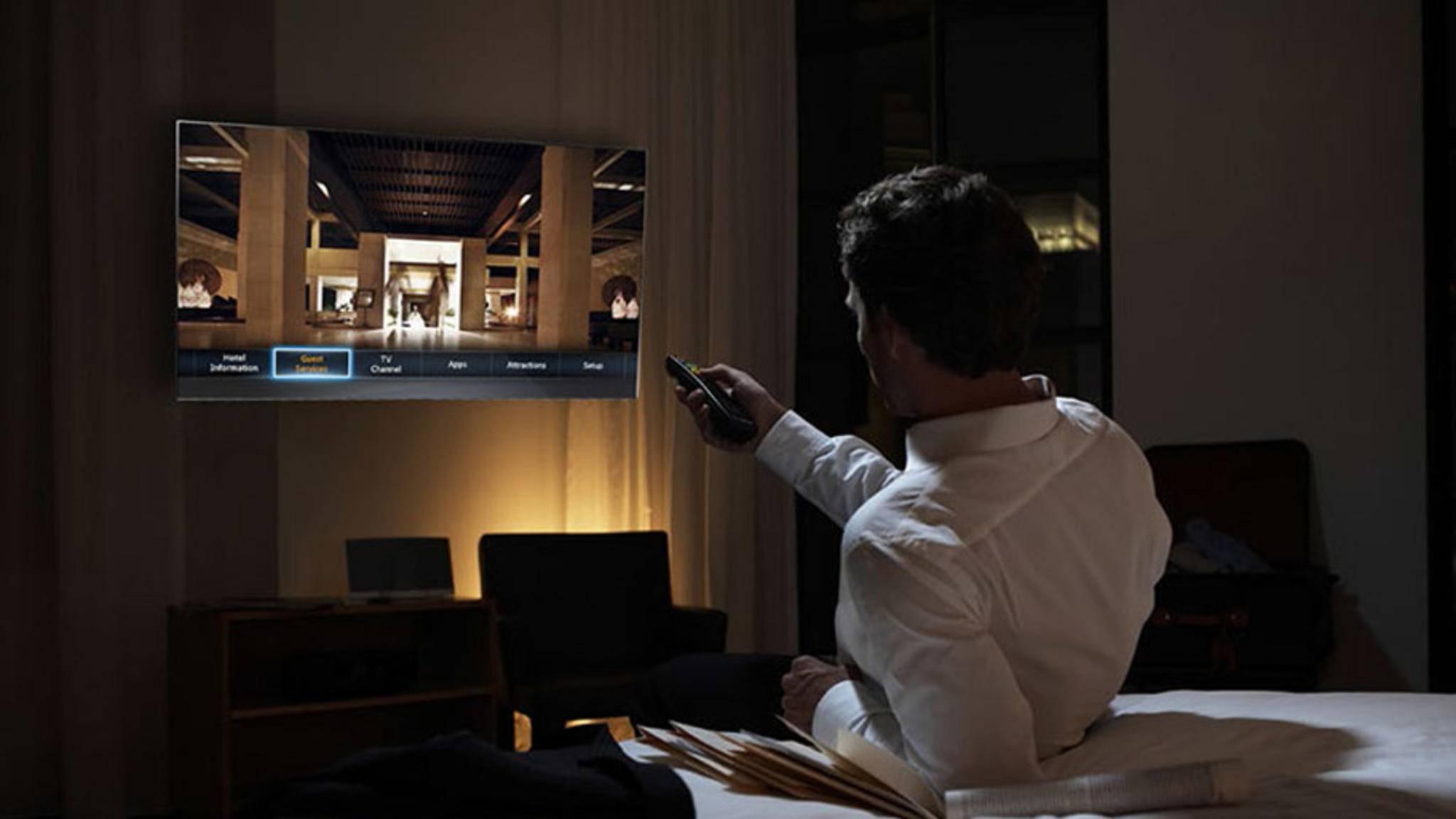 Viele TV-Geräte haben einen speziellen Hotelmodus, der tiefergehende Einstellungen erlaubt.