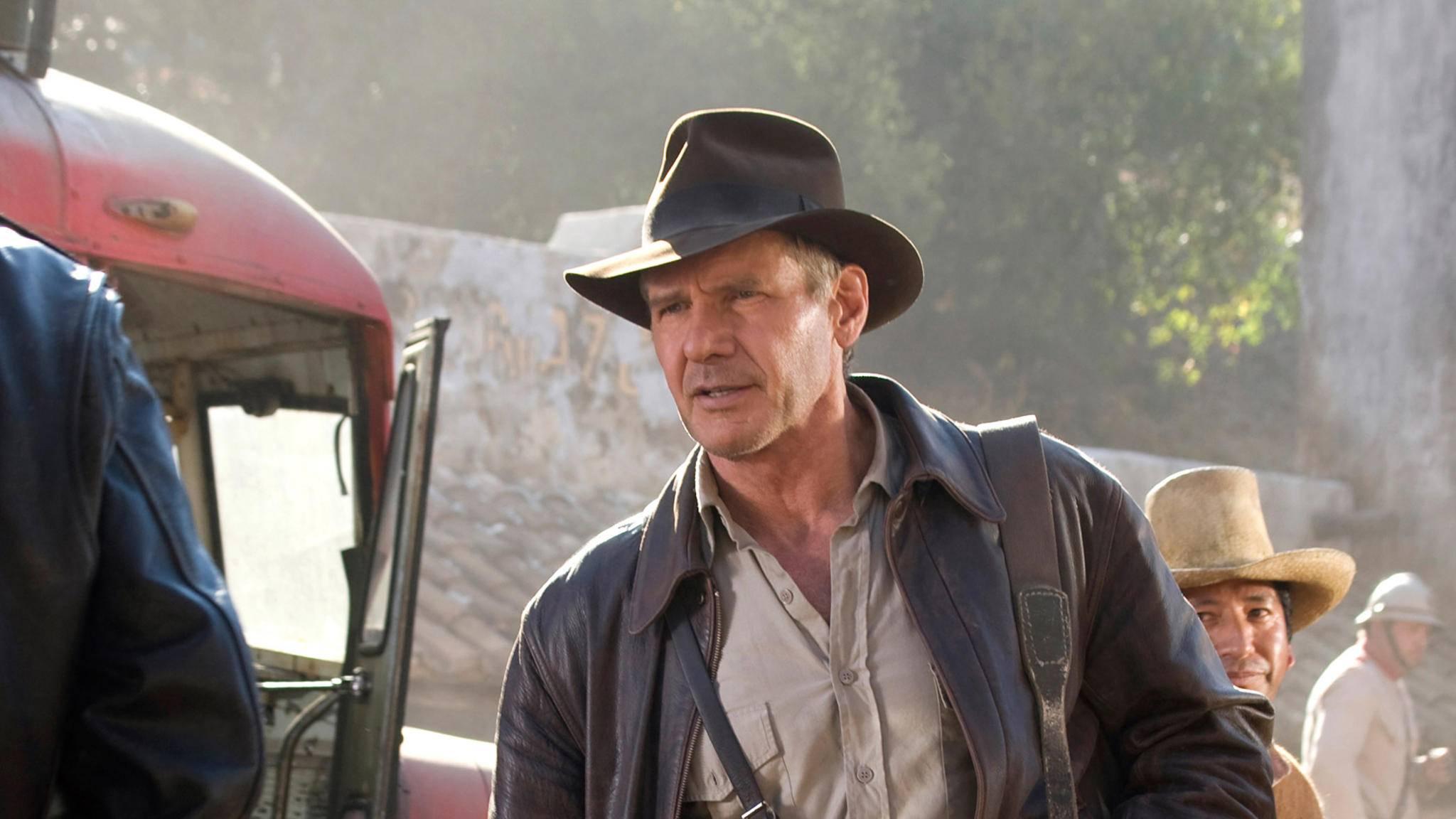 Indiana Jones und das Königreich des Kristallschädels harrison ford