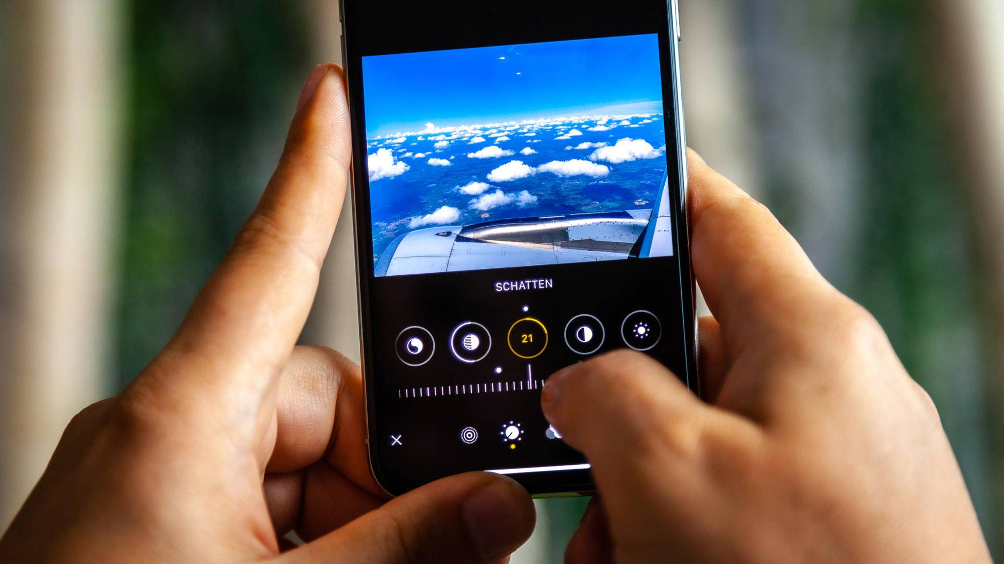 iOS 13 Fotos-App Bearbeiten