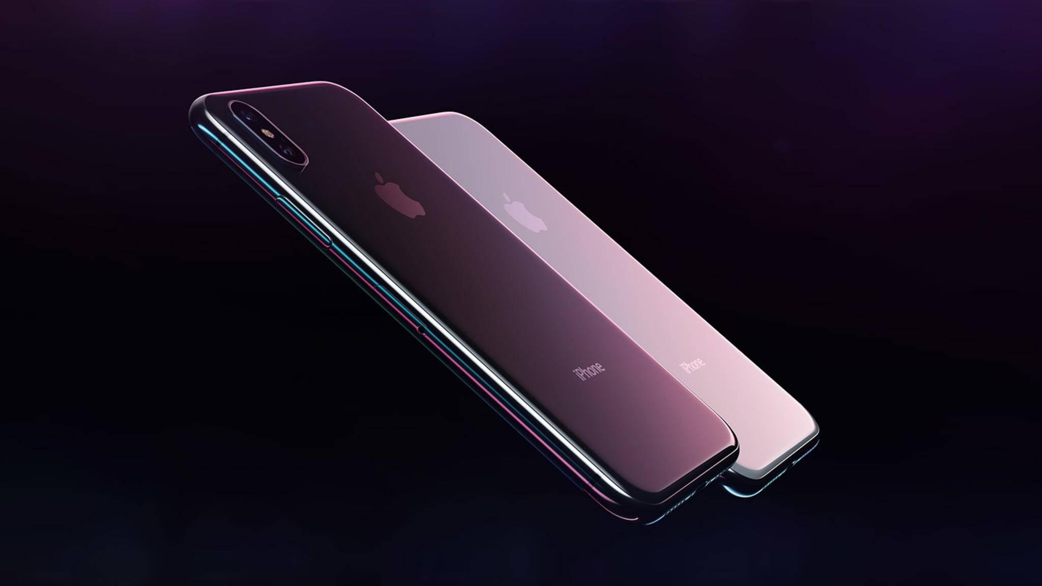 """Wird Apple bei seinen neuen Smartphones auf den """"iPhone""""-Schriftzug verzichten?"""