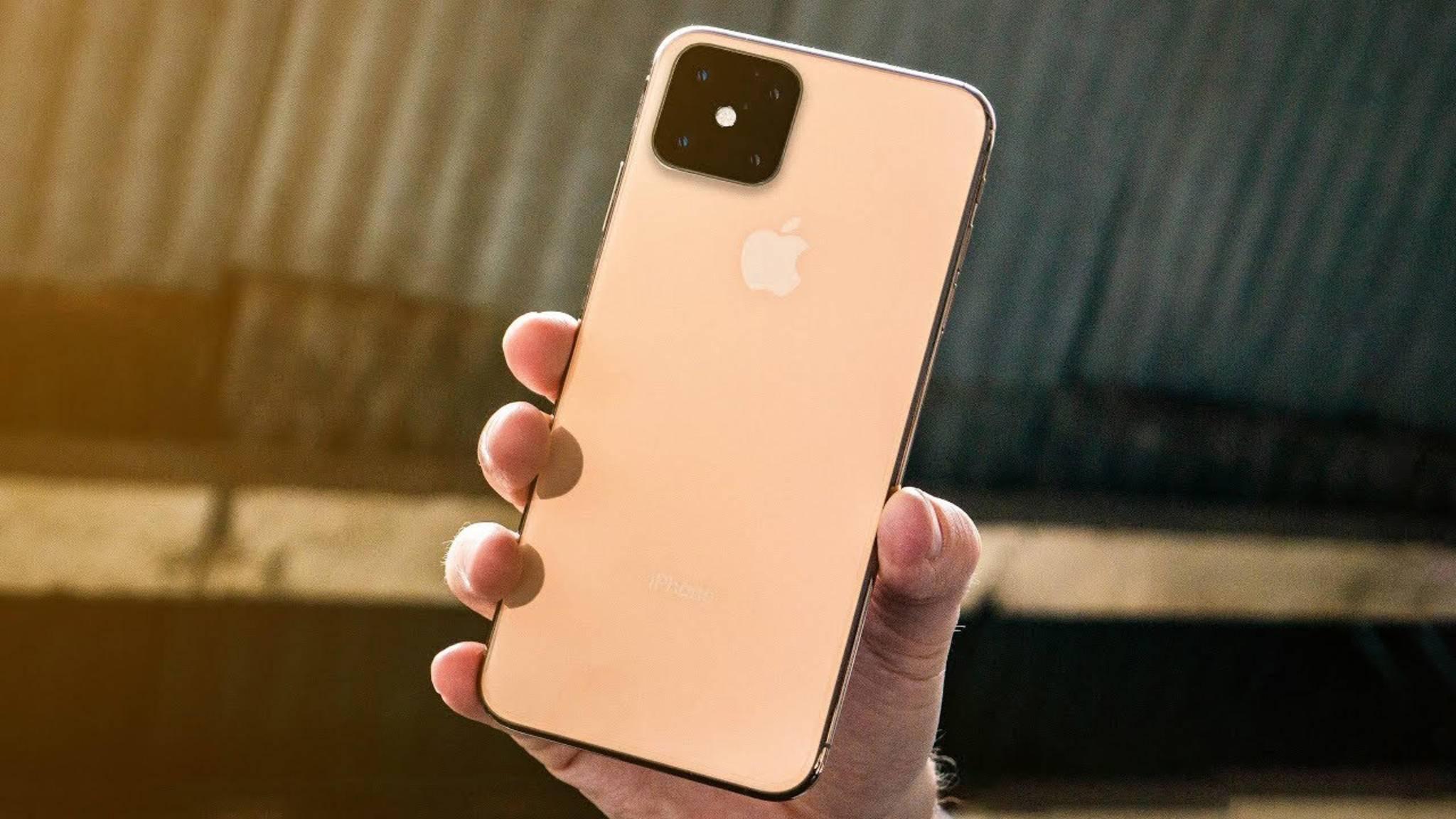 Das iPhone 2019 kommt mit quadratischem Kamera-Setup und einem wirklich praktischen Feature.