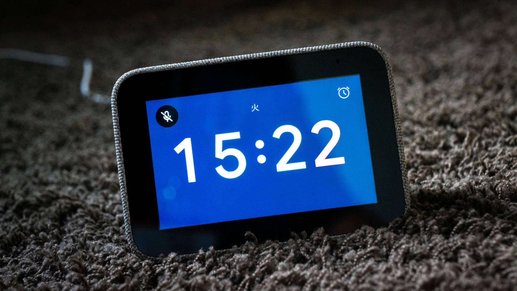 Lenovos Smart Clock soll Dir dank Update zu einem perfekten Start in den Tag verhelfen.
