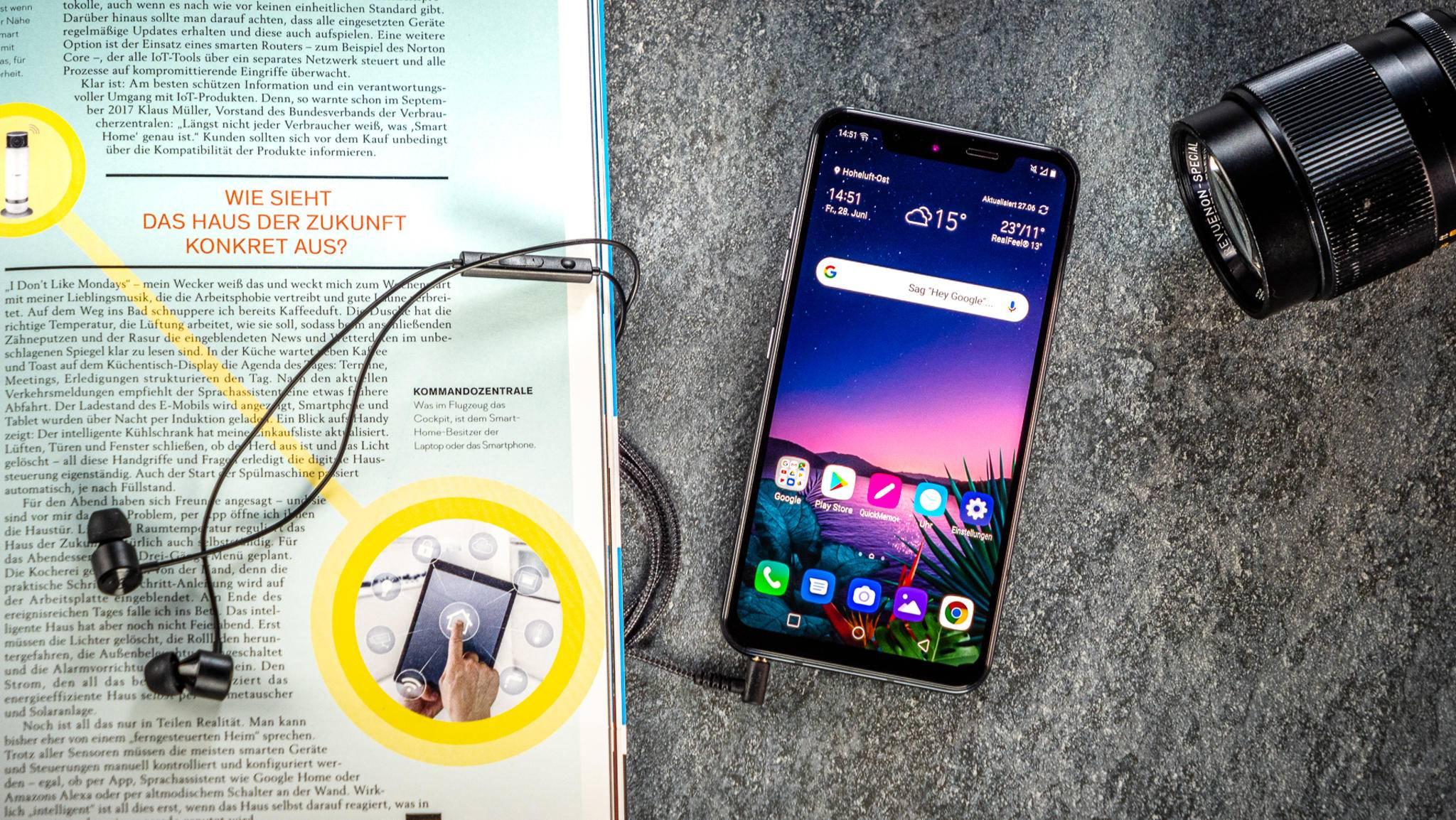 Das LG G8S ThinQ ist ein LG G8 mit einigen Abstrichen und zusätzlicher Kamera.