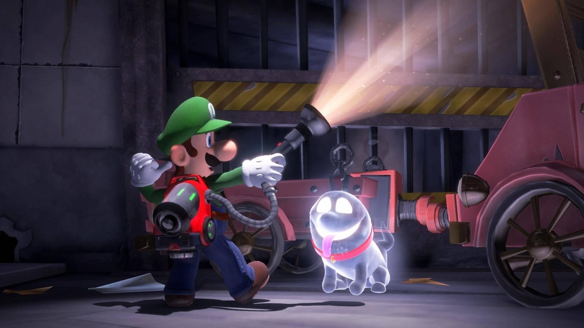 Luigi's Mansion 3 kommt an Halloween heraus