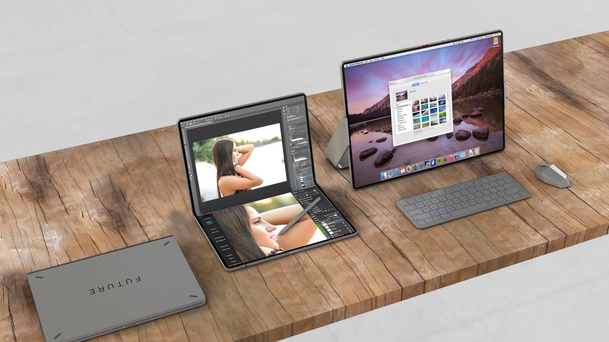 Das faltbare iPad könnte ein Display in MacBook-Größe bieten.
