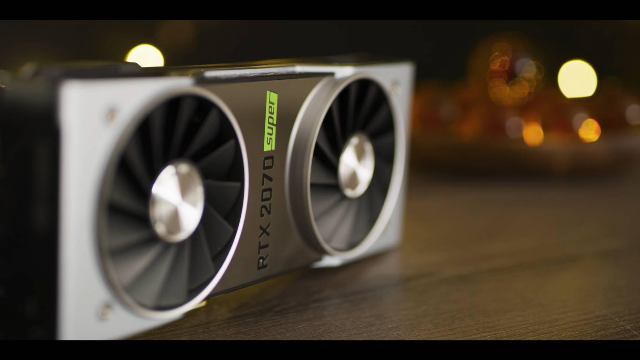 Mit den RTX-Super-Grafikkarten setzt Nvidia den neuen AMD-Karten etwas entgegen.