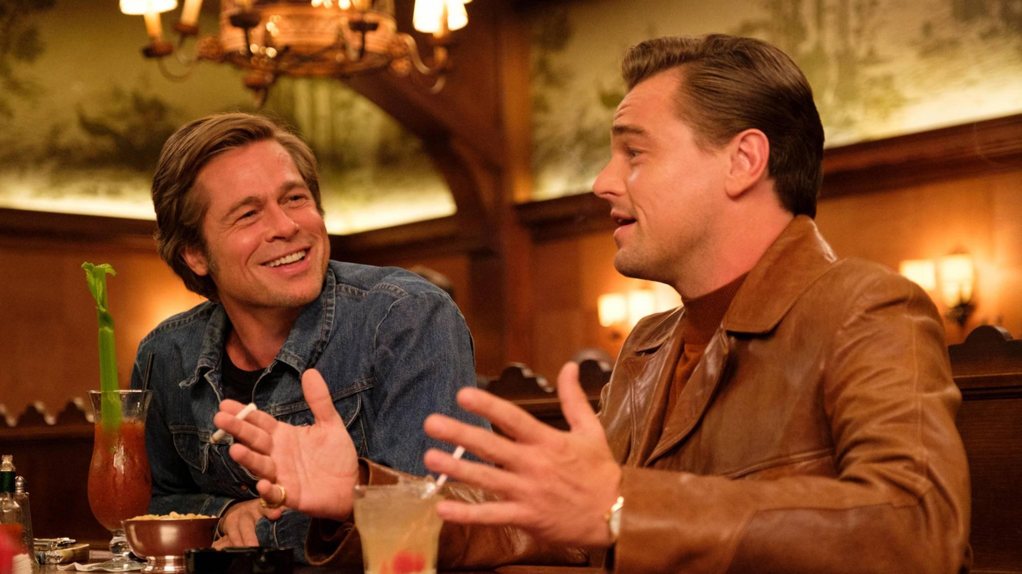 """Vier Stunden """"Once Upon a Time in Hollywood""""? Nicht nur Brad Pitt ist da Feuer und Flamme."""