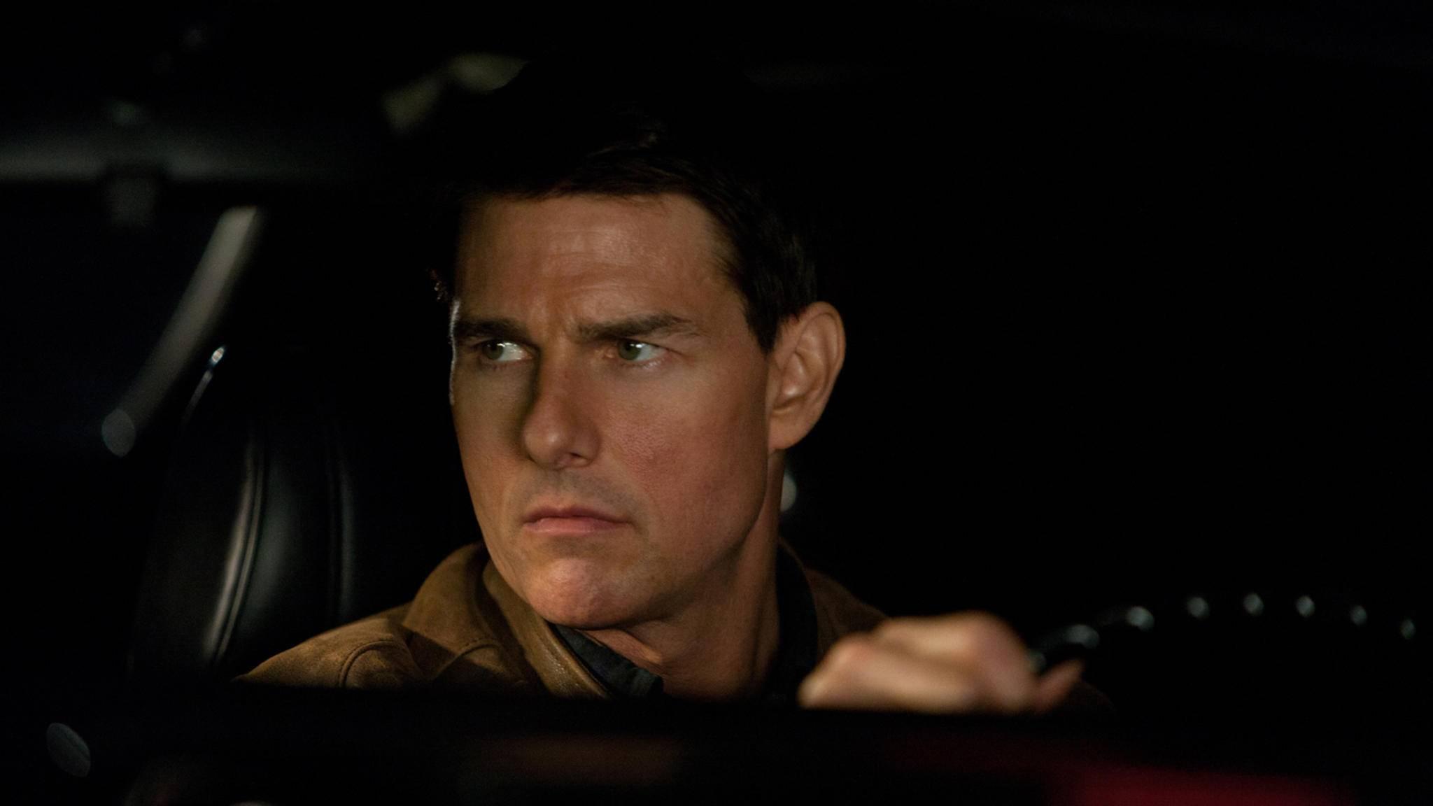 Na , wer wird denn eine Schnute ziehen? Tom Cruise Zeiten als Jack Reacher sind vorbei.
