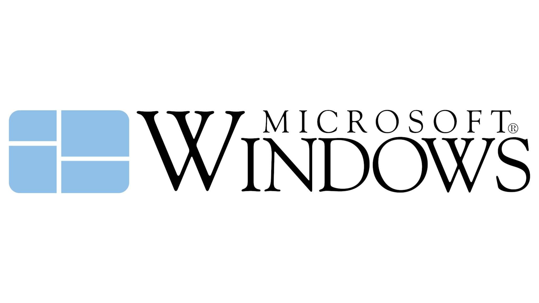 Microsoft kündigte kürzlich Windows 1.0 an.