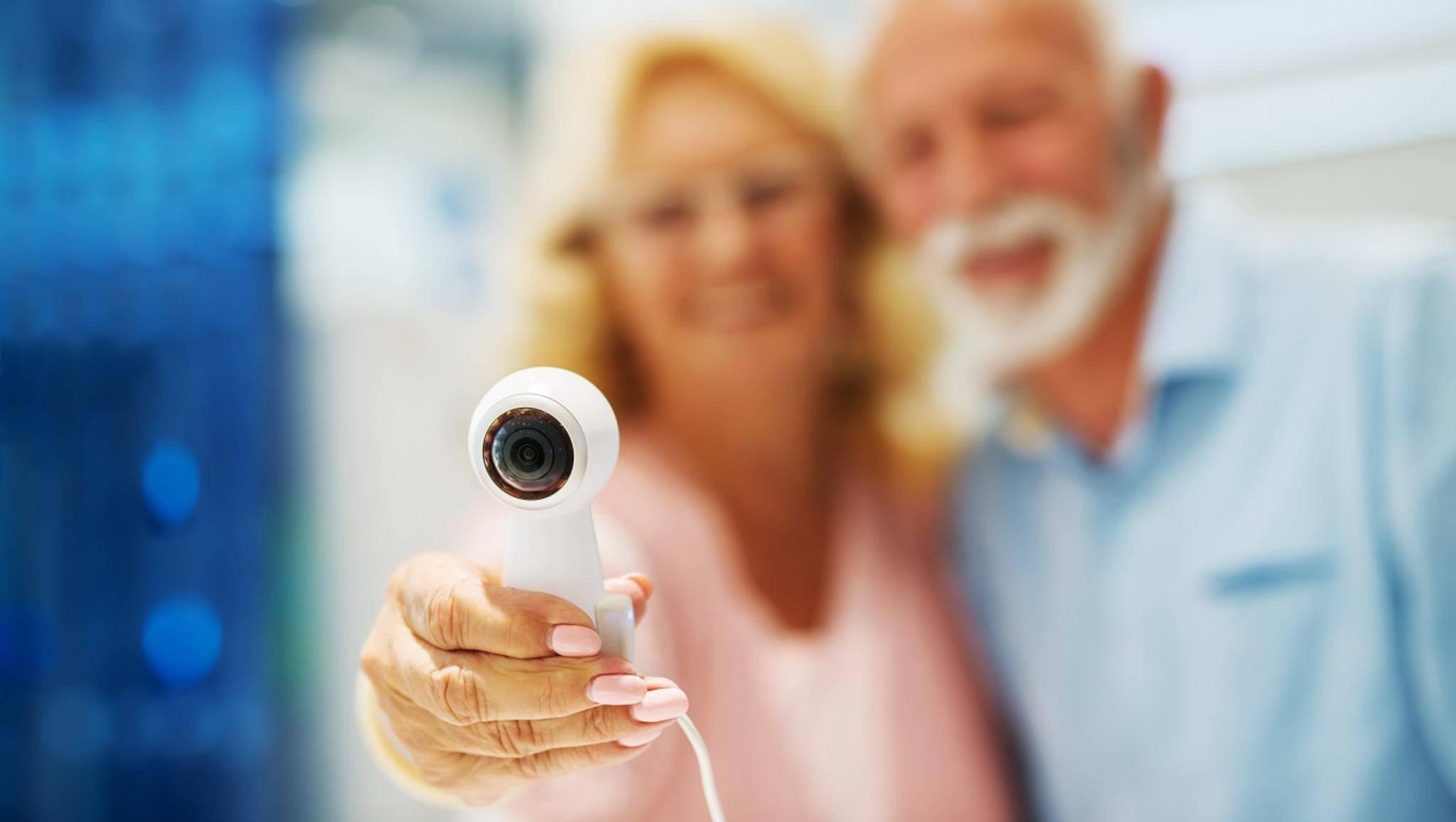 360-Grad-Kamera im Selfie-Modus