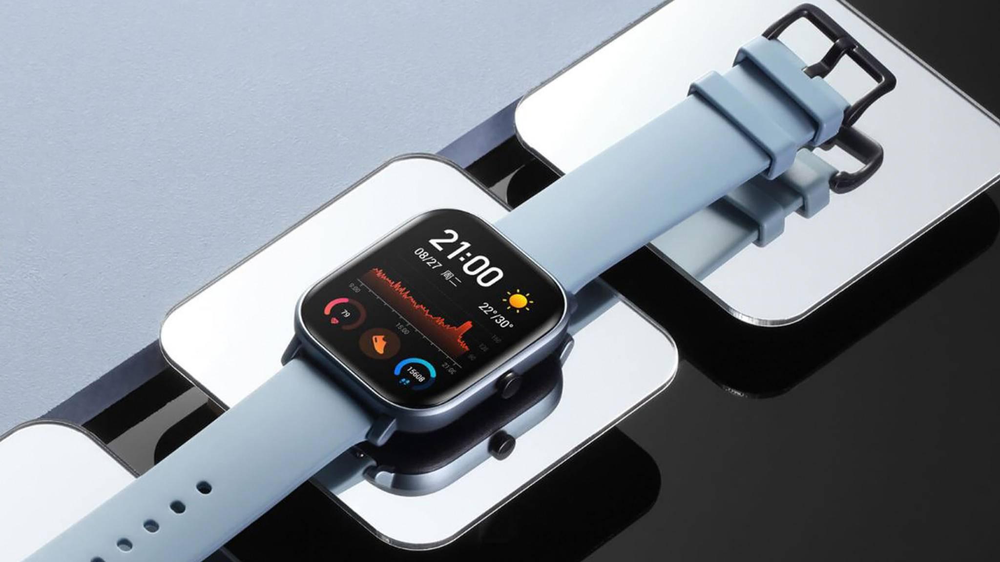 Amazfit GTS-Huami-Xiaomi-Wearable-Weibo-Huami