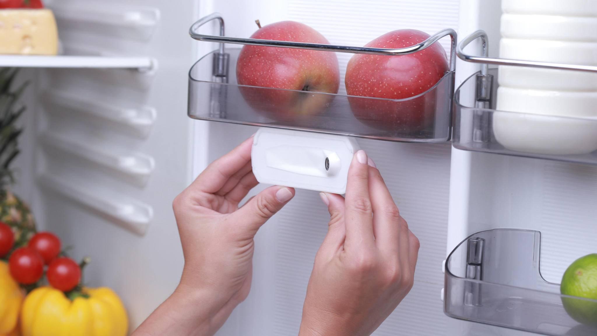 Was hast Du noch im Kühlschrank? Die Fridge-Eye-Kamera zeigt es Dir.