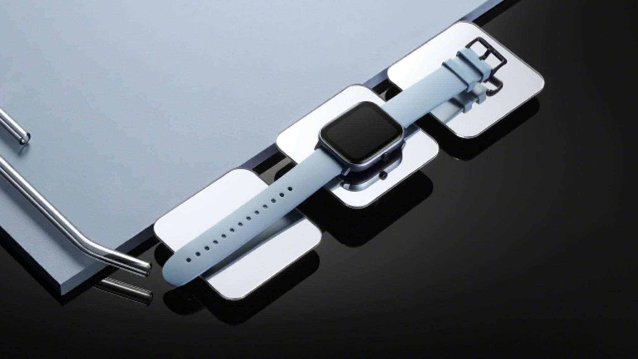 Die neue Amazfit-Smartwatch von Huami sieht der Apple Watch auffallend ähnlich.