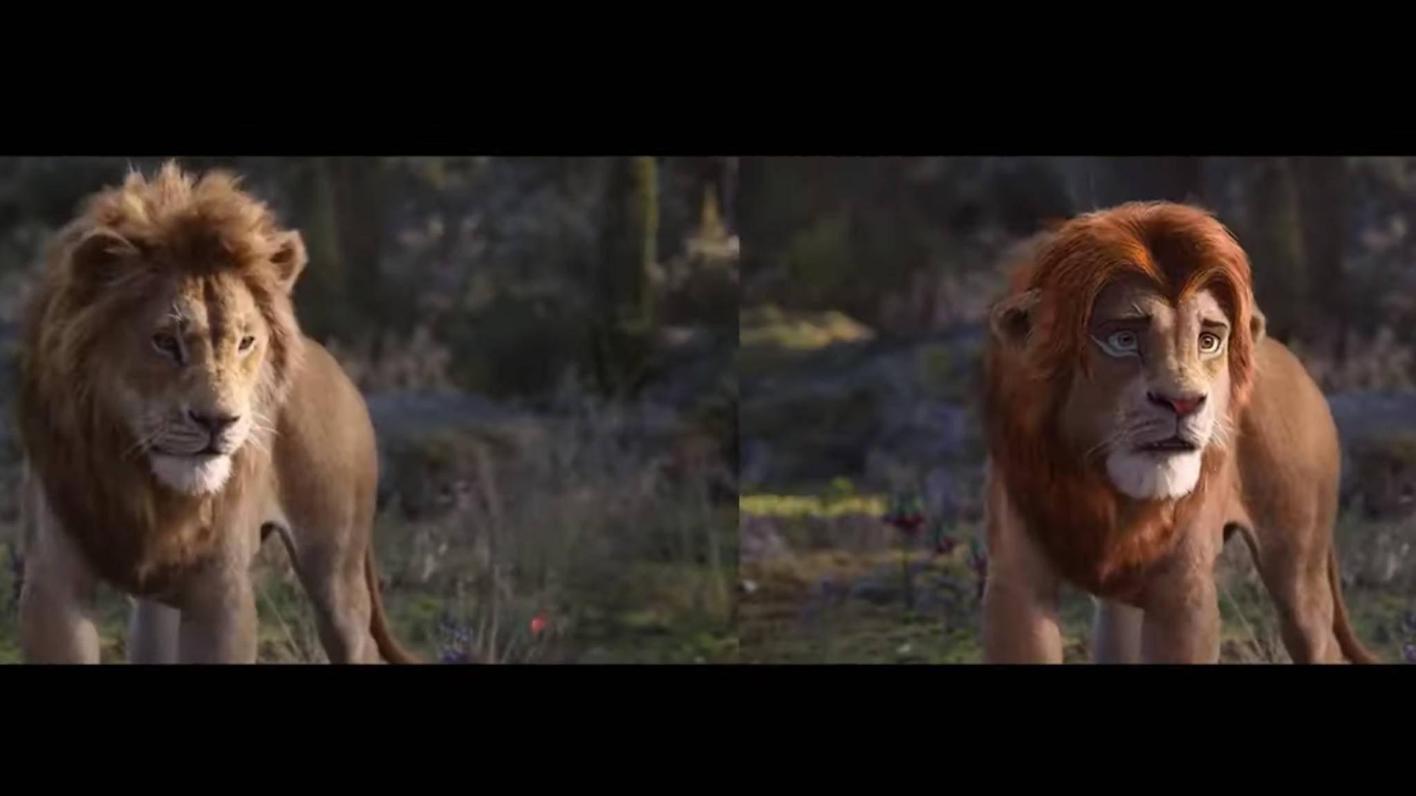 König der Löwen Deepfake