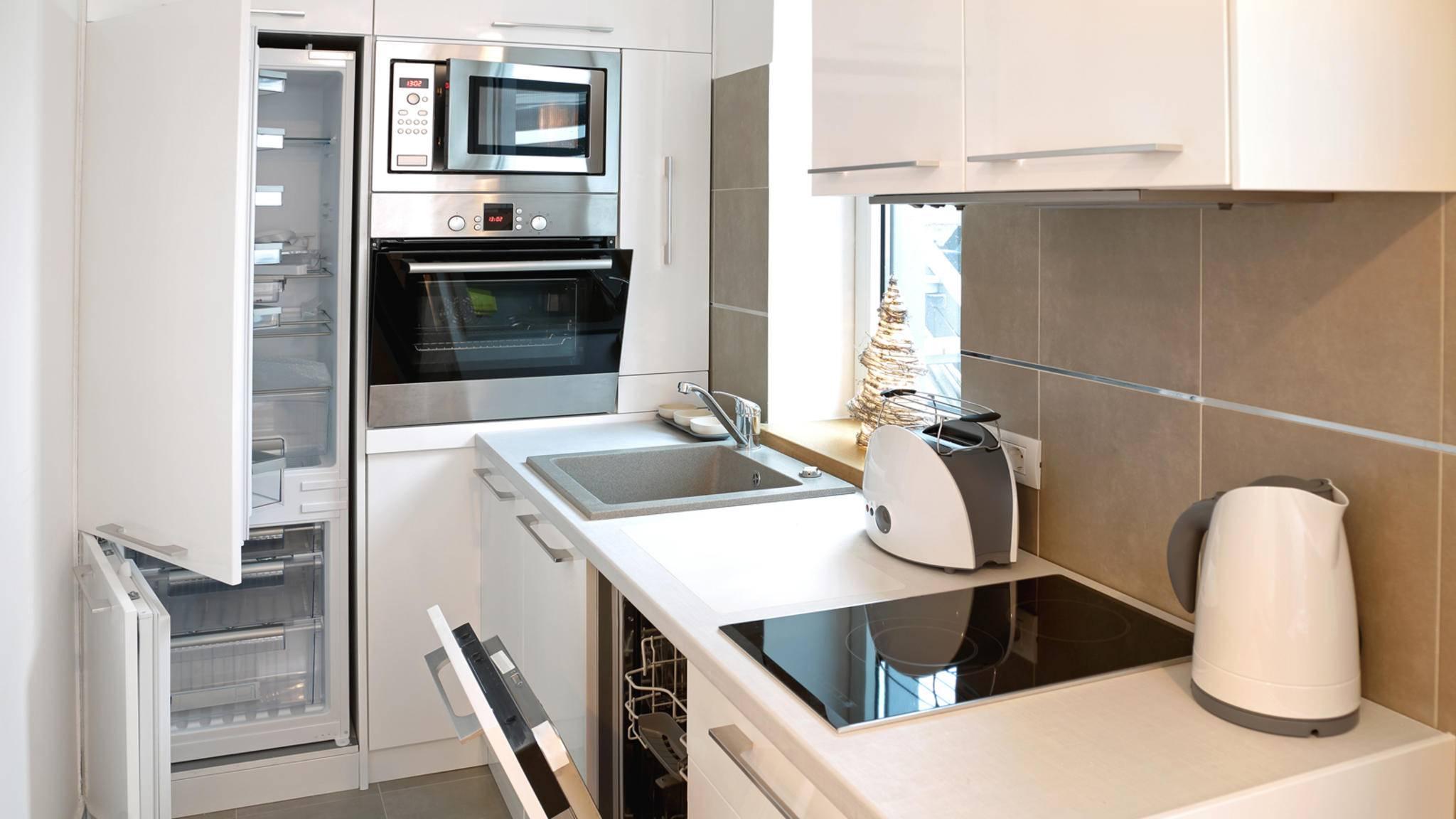 In kleinen Küchen sind platzsparende Lösungen gefragt – wir stellen fünf vor!