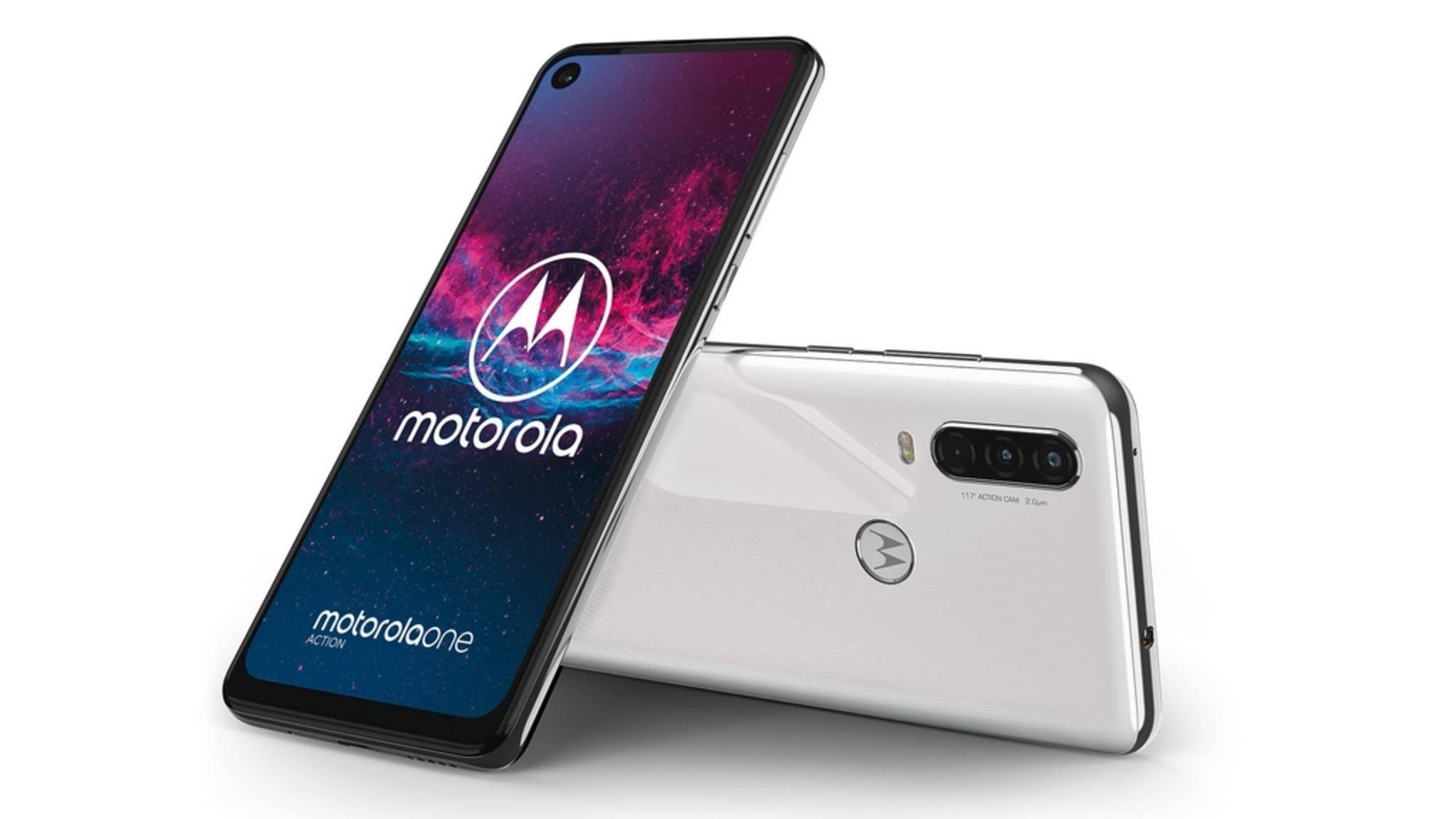 Das Motorola One Action will eine Action-Cam im Handy-Format sein.