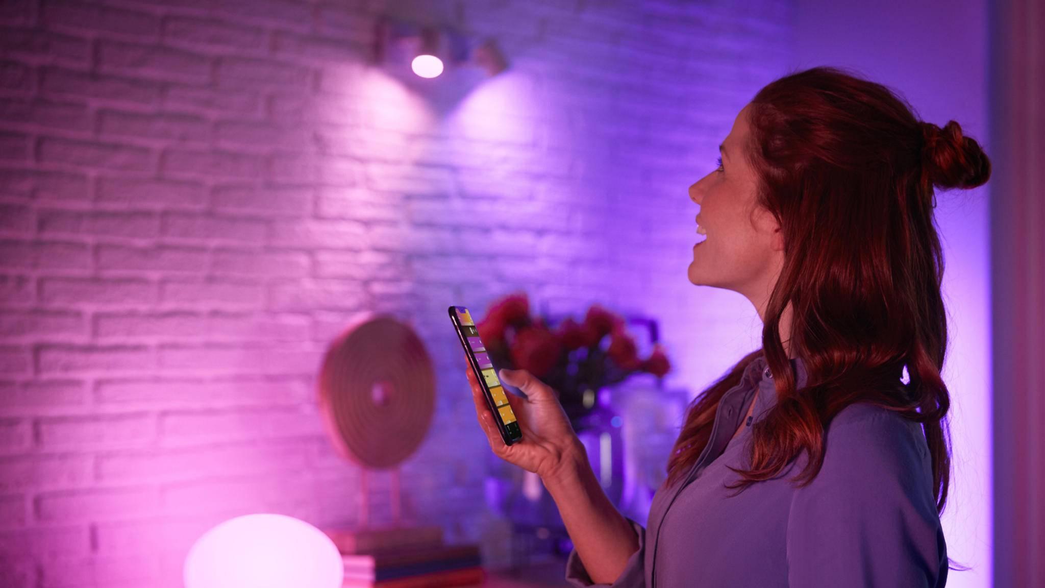 Philips-Hue-Lampen per Bluetooth steuern? Das ist jetzt möglich!