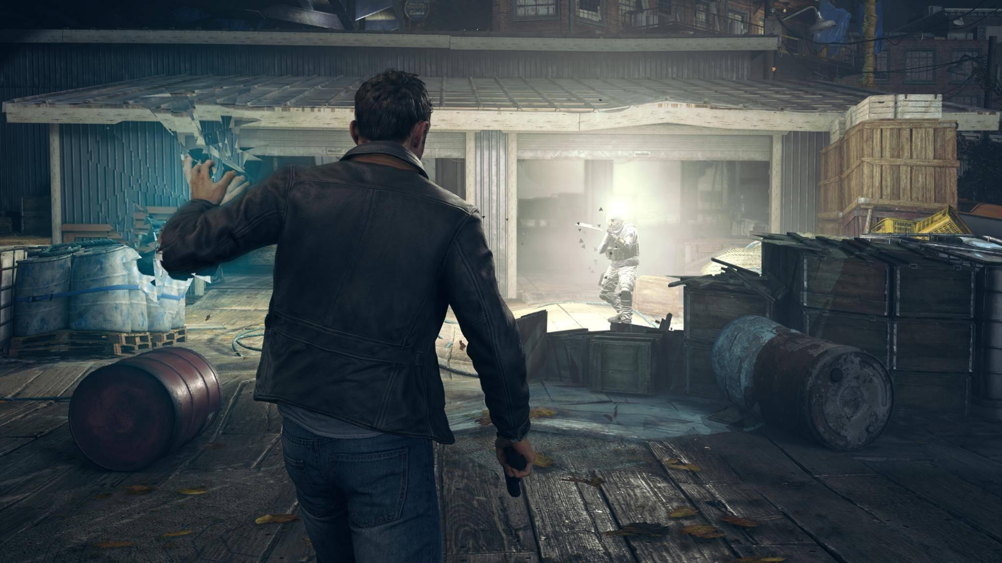 Quantum Break Xbox One time blast