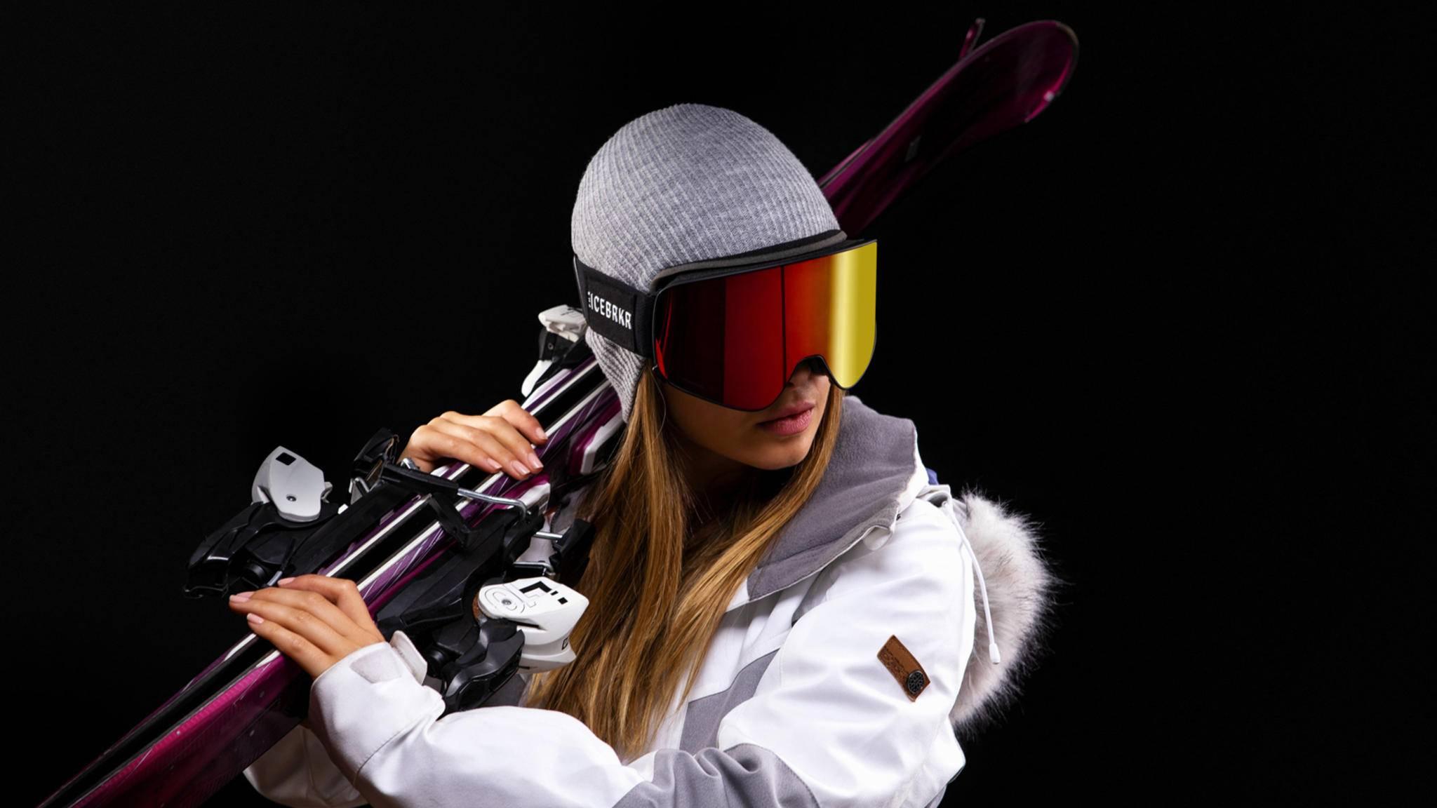 Smarte Skibrille IceBRKR von BoneTech