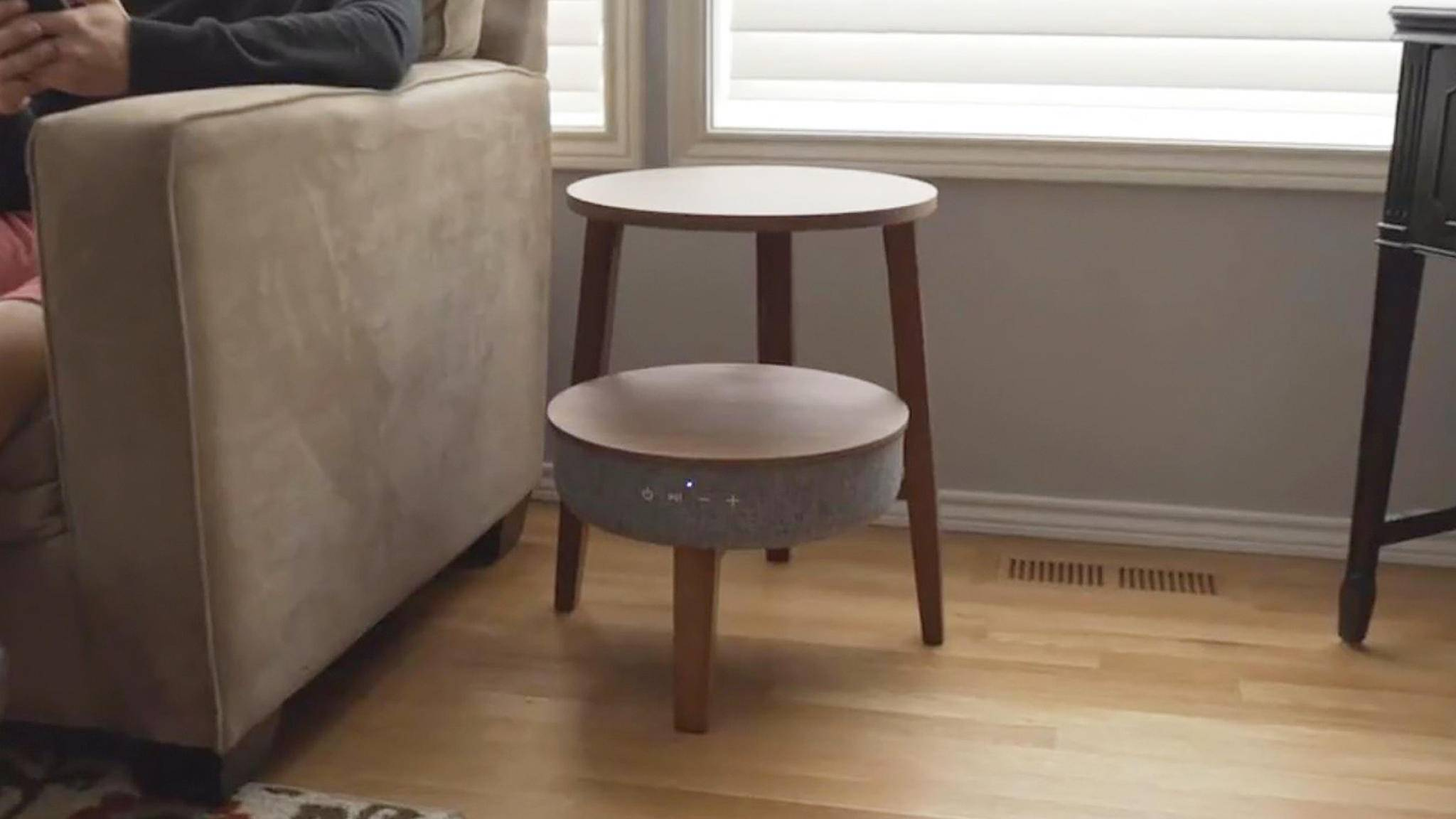 Sono Beistelltisch-Lautsprecher-Ladestation-Youtube-Kickstarter Indiegogo