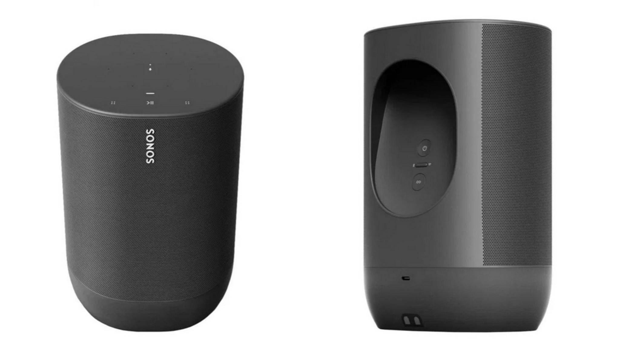 So soll der Sonos Move aussehen.