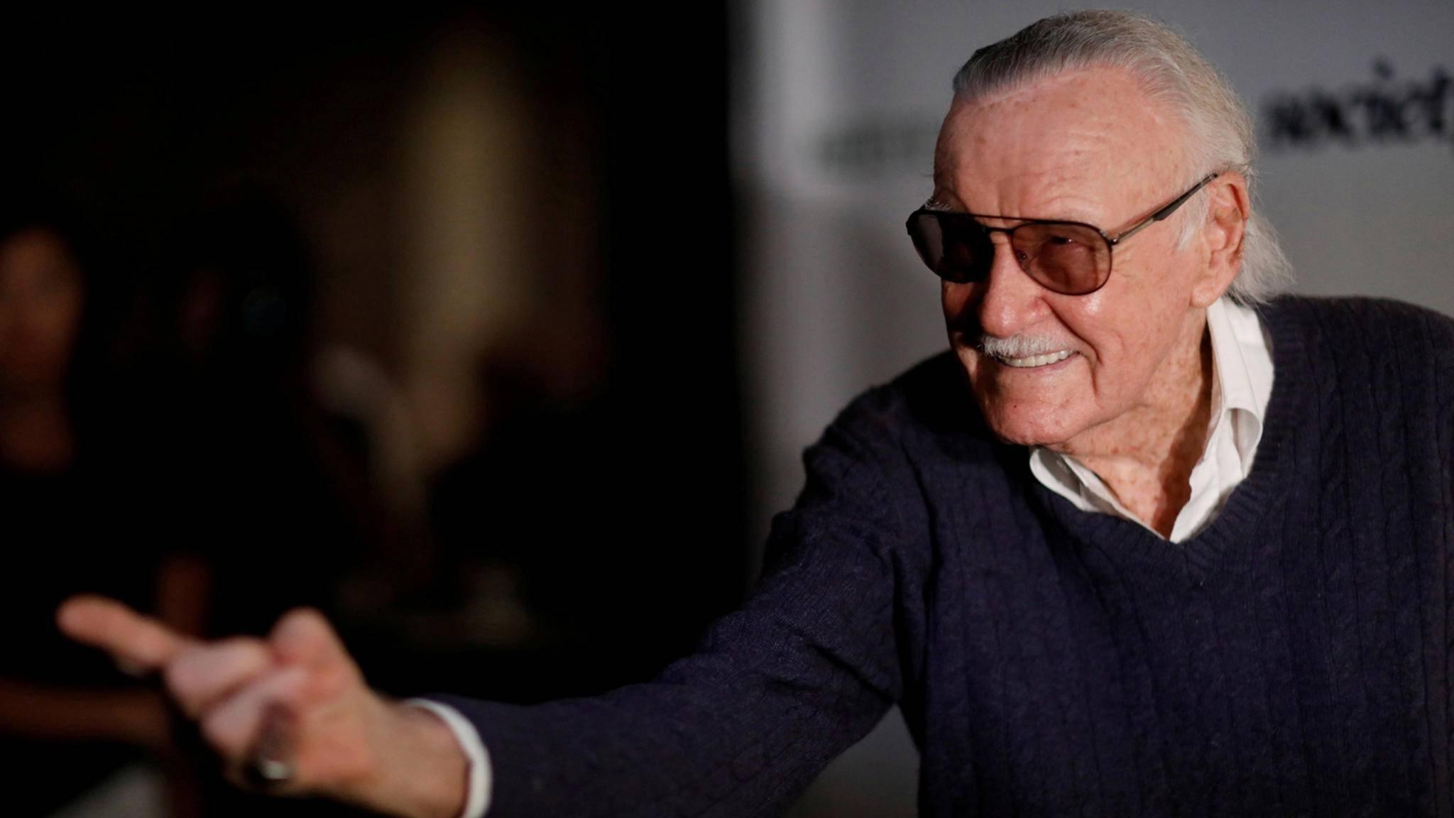 Marvel-Comics-Autor Stan Lee bei einem Tribut-Event im Saban Theatre in Beverly Hills
