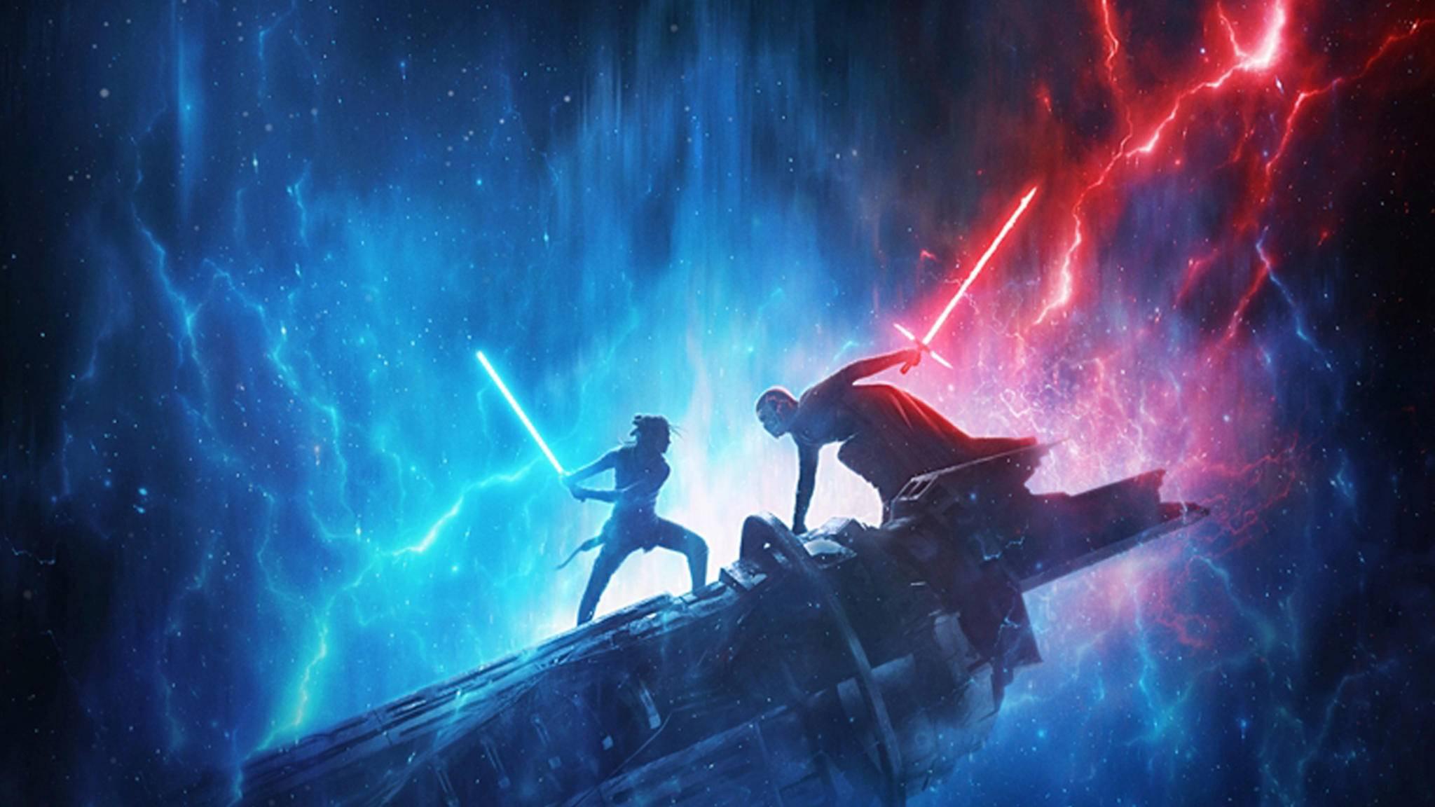Star Wars Der Aufstieg Skywalkers-Teaserplakat-Poster-Walt Disney Studios