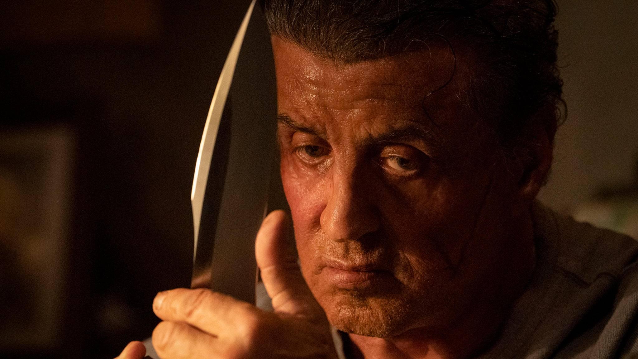 "Sylvester Stallone wetzt die Messer in ""Rambo: Last Blood"""