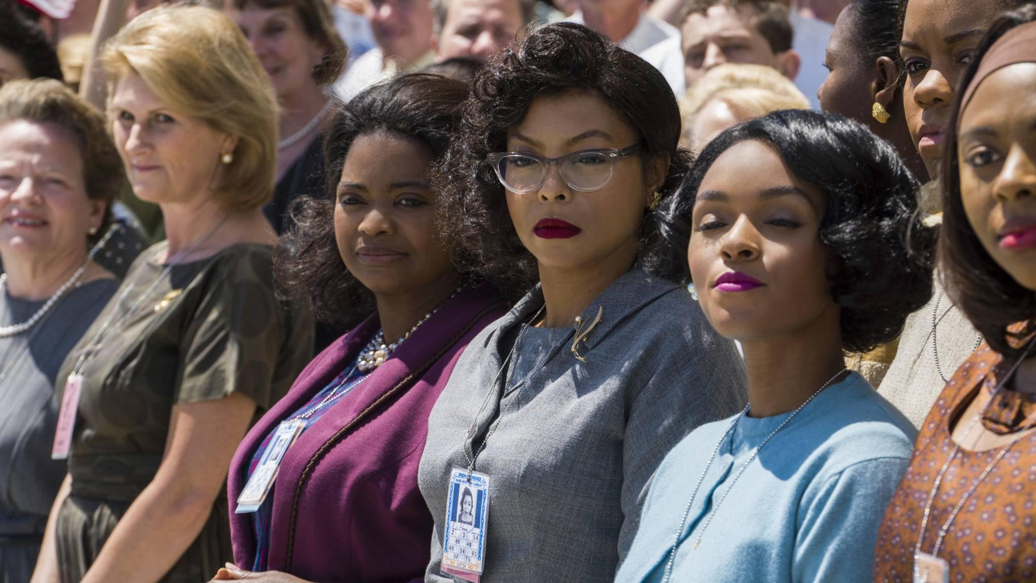 "Octavia Spencer, Taraji P. Henson und Janelle Monáe in ""Hidden Figures"""